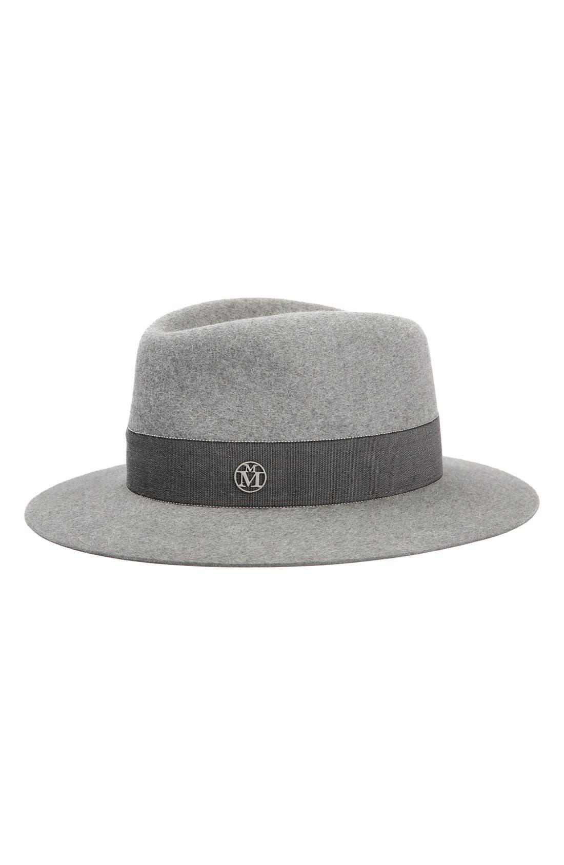MAISON MICHEL 'Andre' Genuine Rabbit Fur Felt Hat