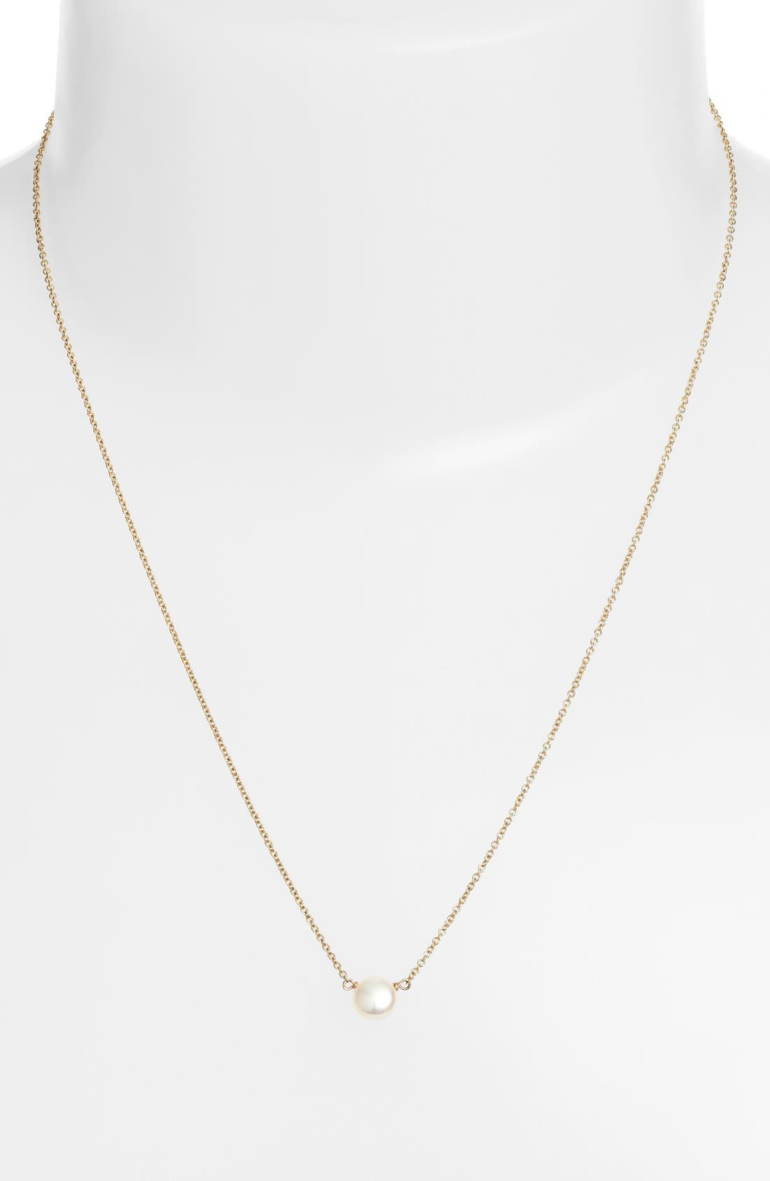 Alternate Image 3  - Dogeared Pearl Pendant Necklace