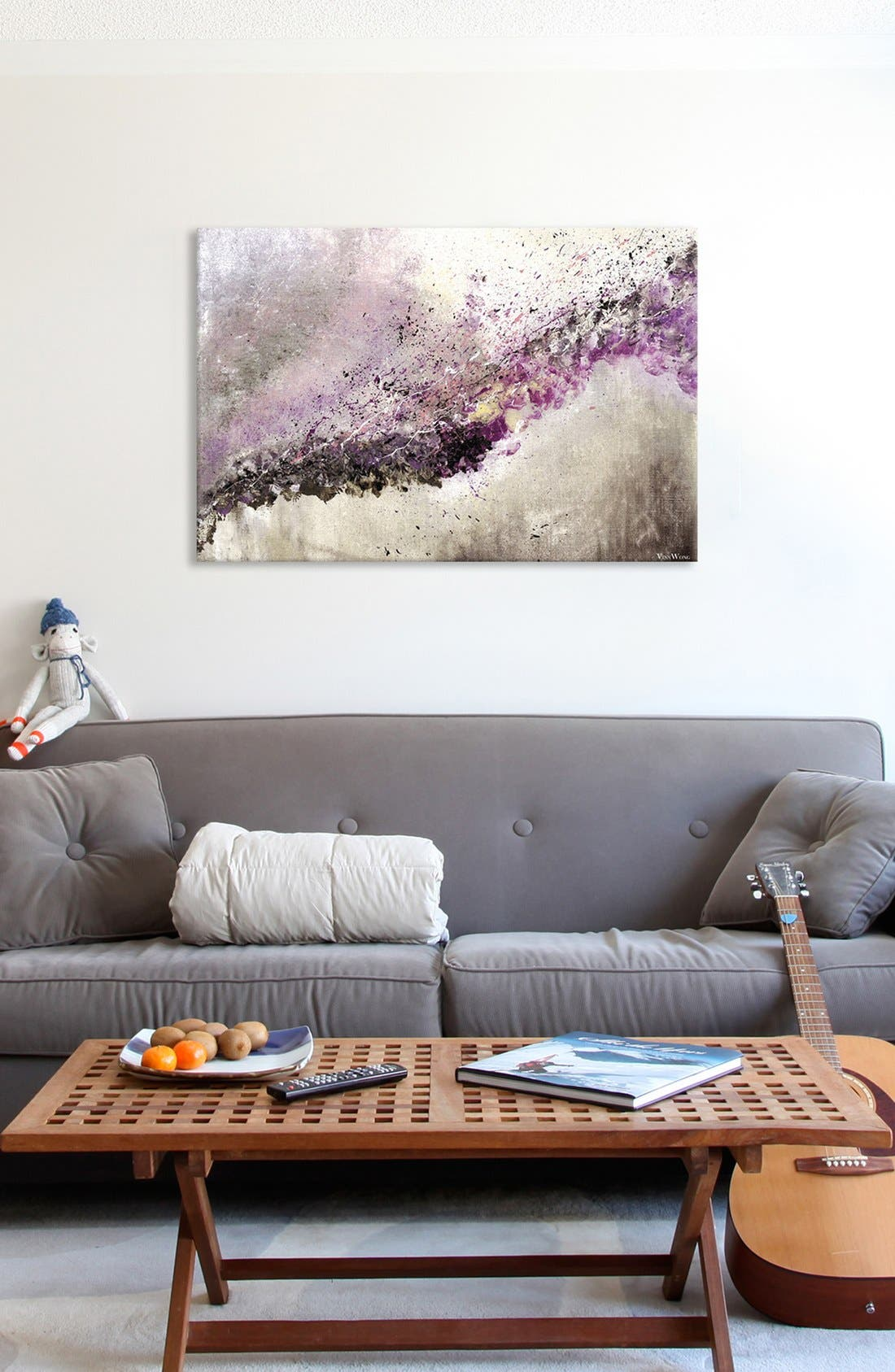 Alternate Image 2  - iCanvas 'Hush' Giclée Print Canvas Art