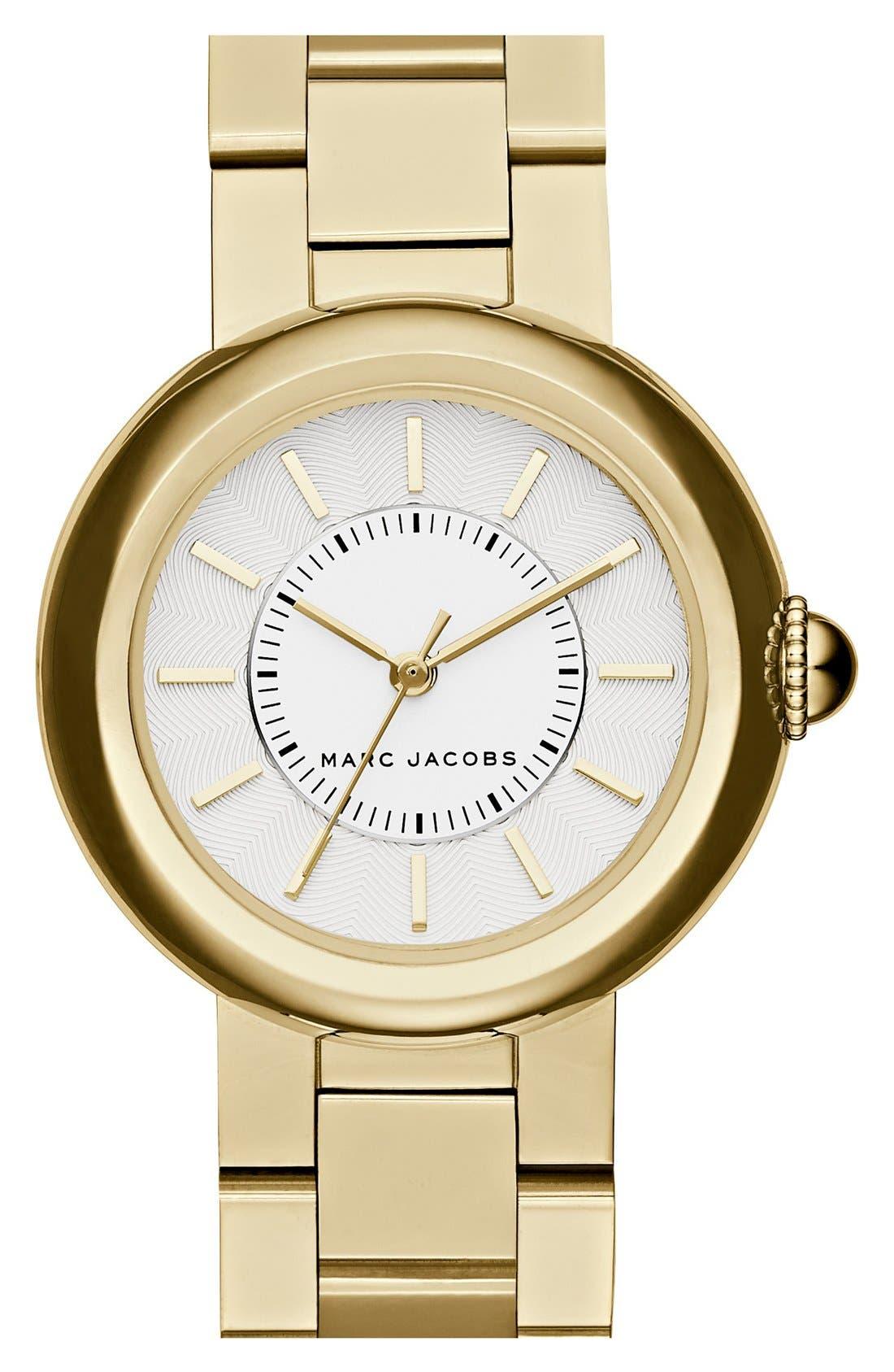 MARC JACOBS 'Courtney' Bracelet Watch, 34mm