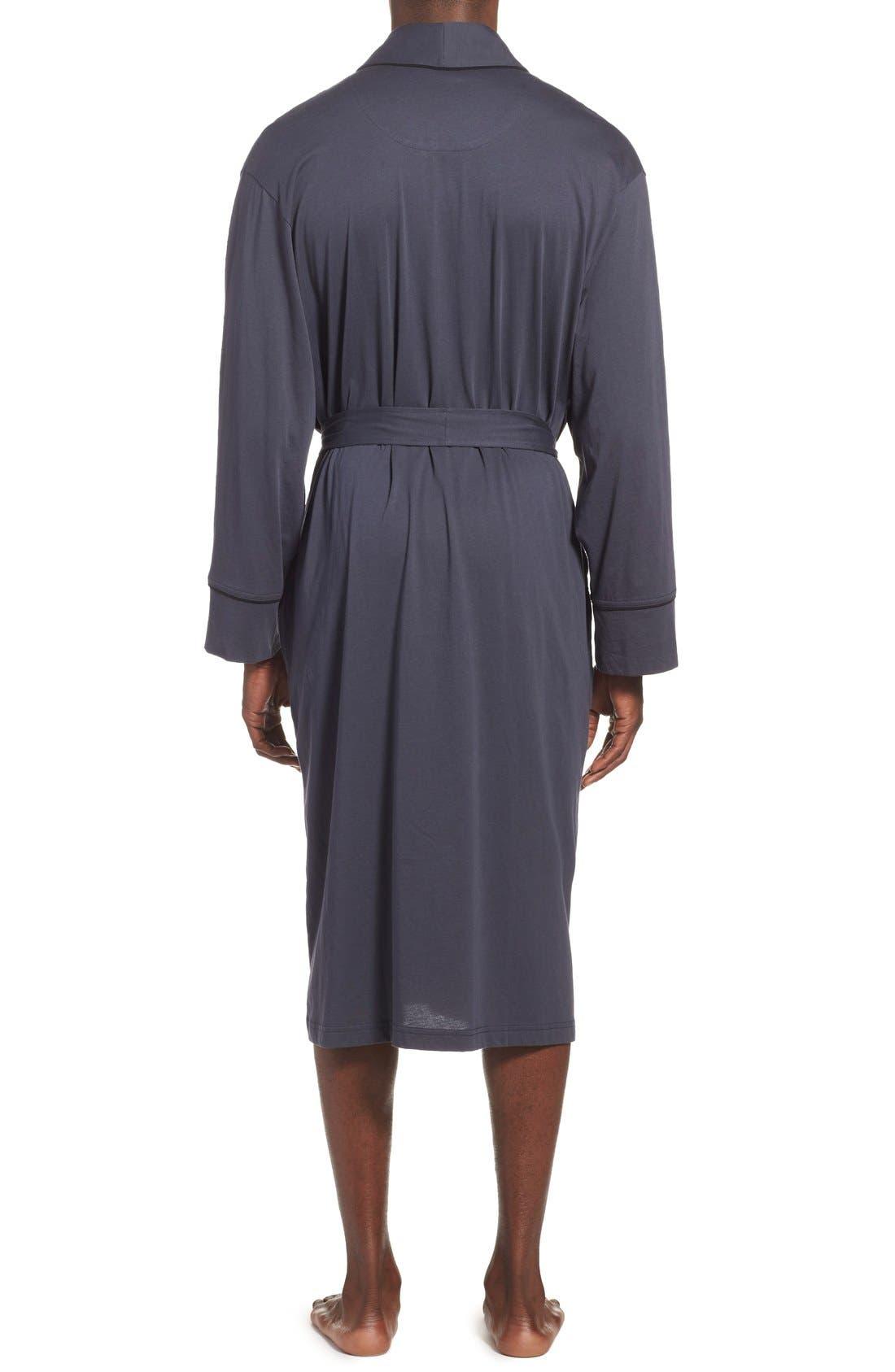 Alternate Image 2  - Daniel Buchler Peruvian Pima Cotton Robe