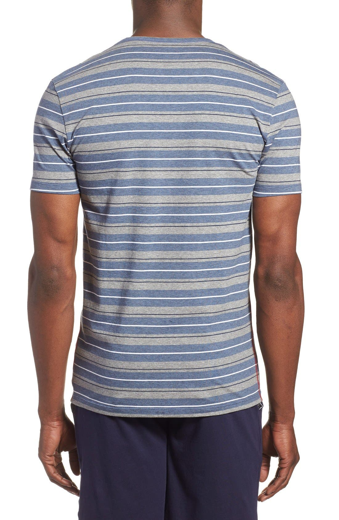 Alternate Image 2  - Paul Smith Stripe Stretch Cotton T-Shirt