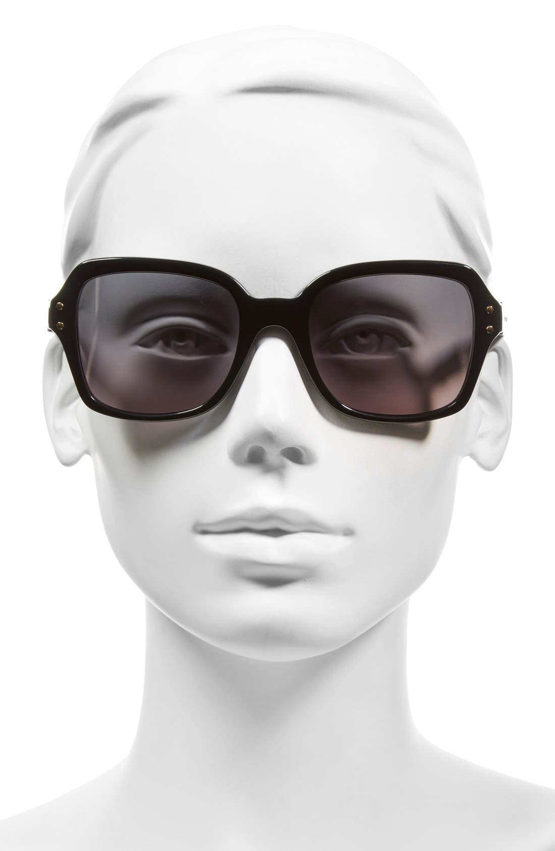 Alternate Image 2  - Tory Burch 55mm Polarized Sunglasses