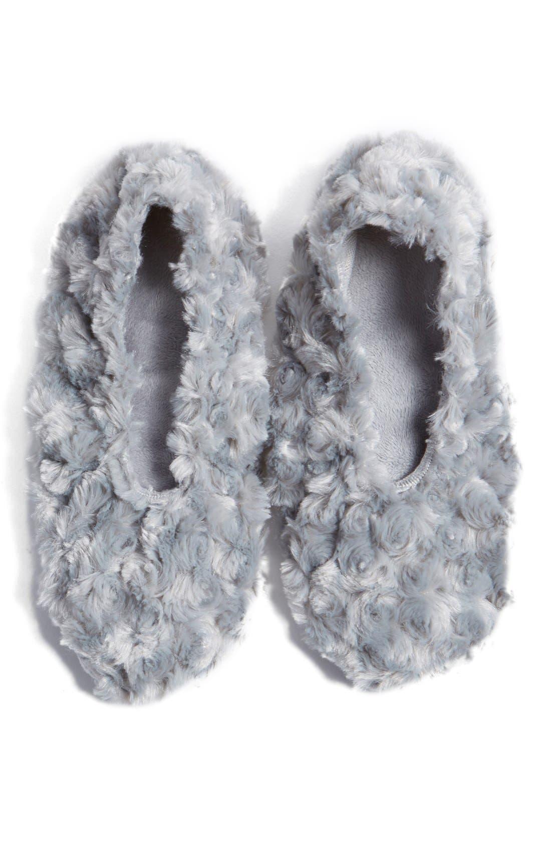Sonoma Lavender Silver Rosette Footies ($38 Value)