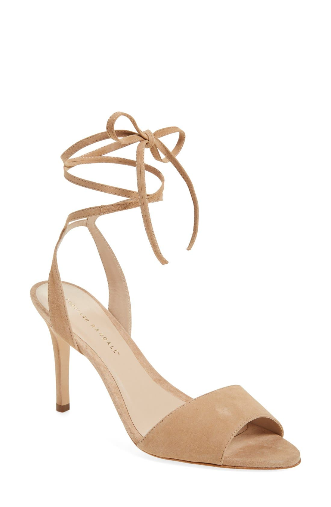 Alternate Image 1 Selected - Loeffler Randall 'Elyse' Lace-Up Sandal (Women)
