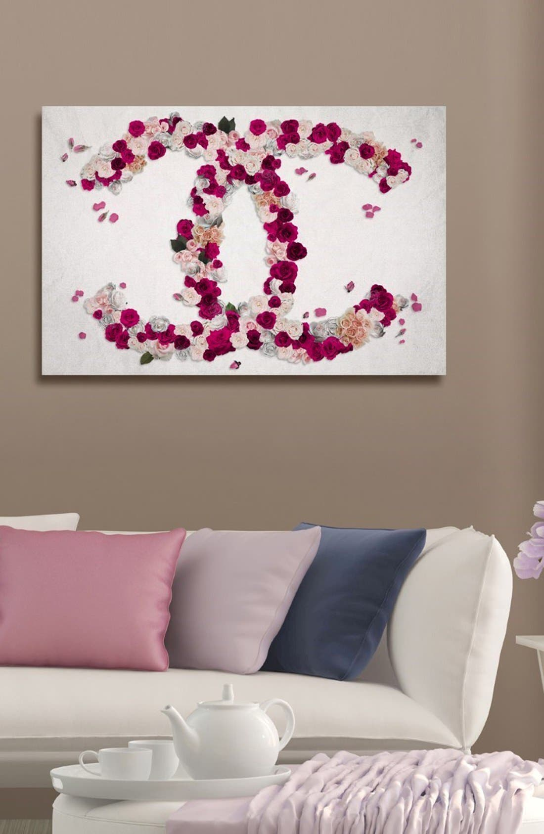 Alternate Image 2  - Oliver Gal 'Dreaming Beauty' Canvas Wall Art