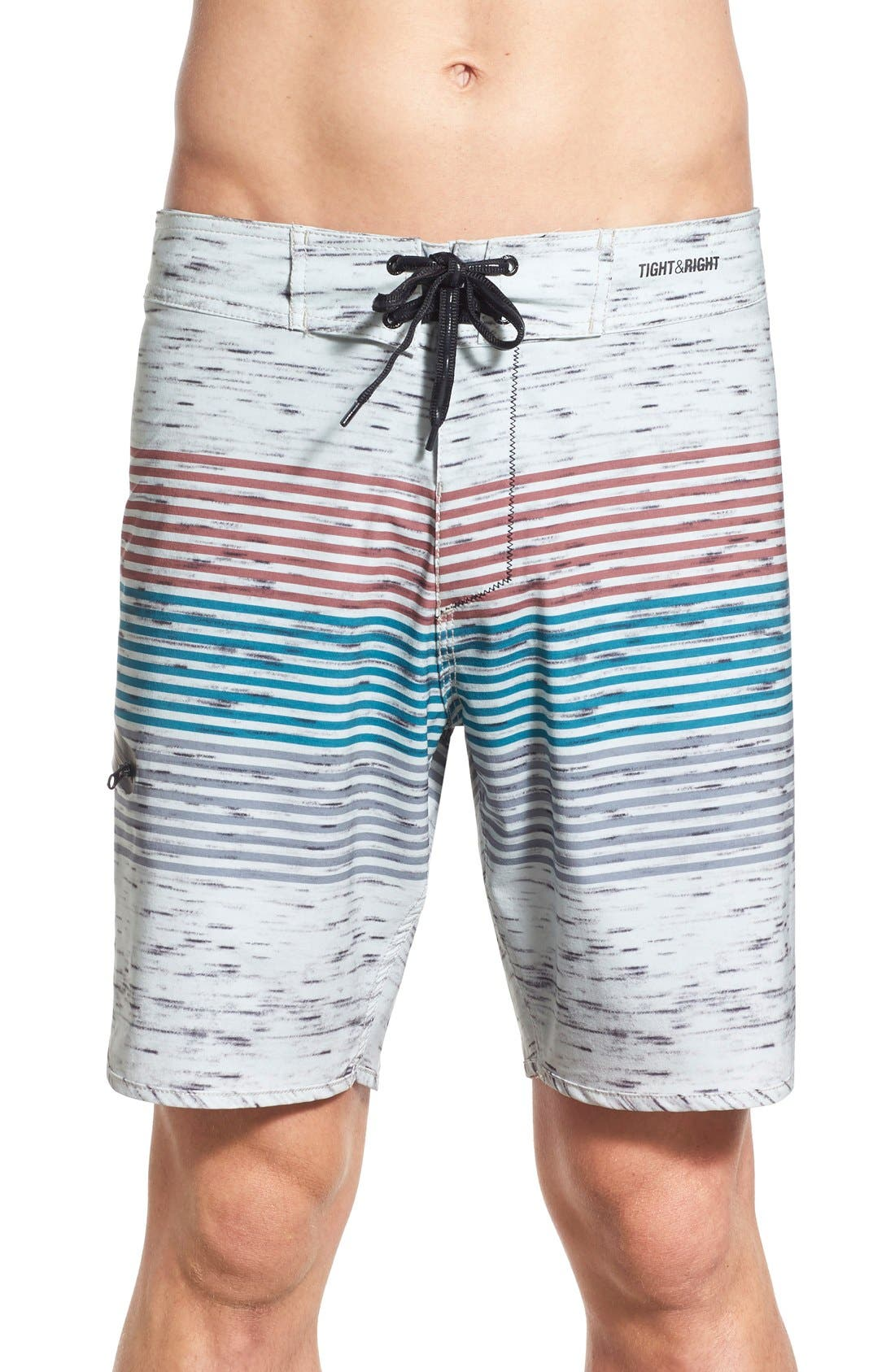 IMPERIAL MOTION 'Howard' Stripe Board Shorts