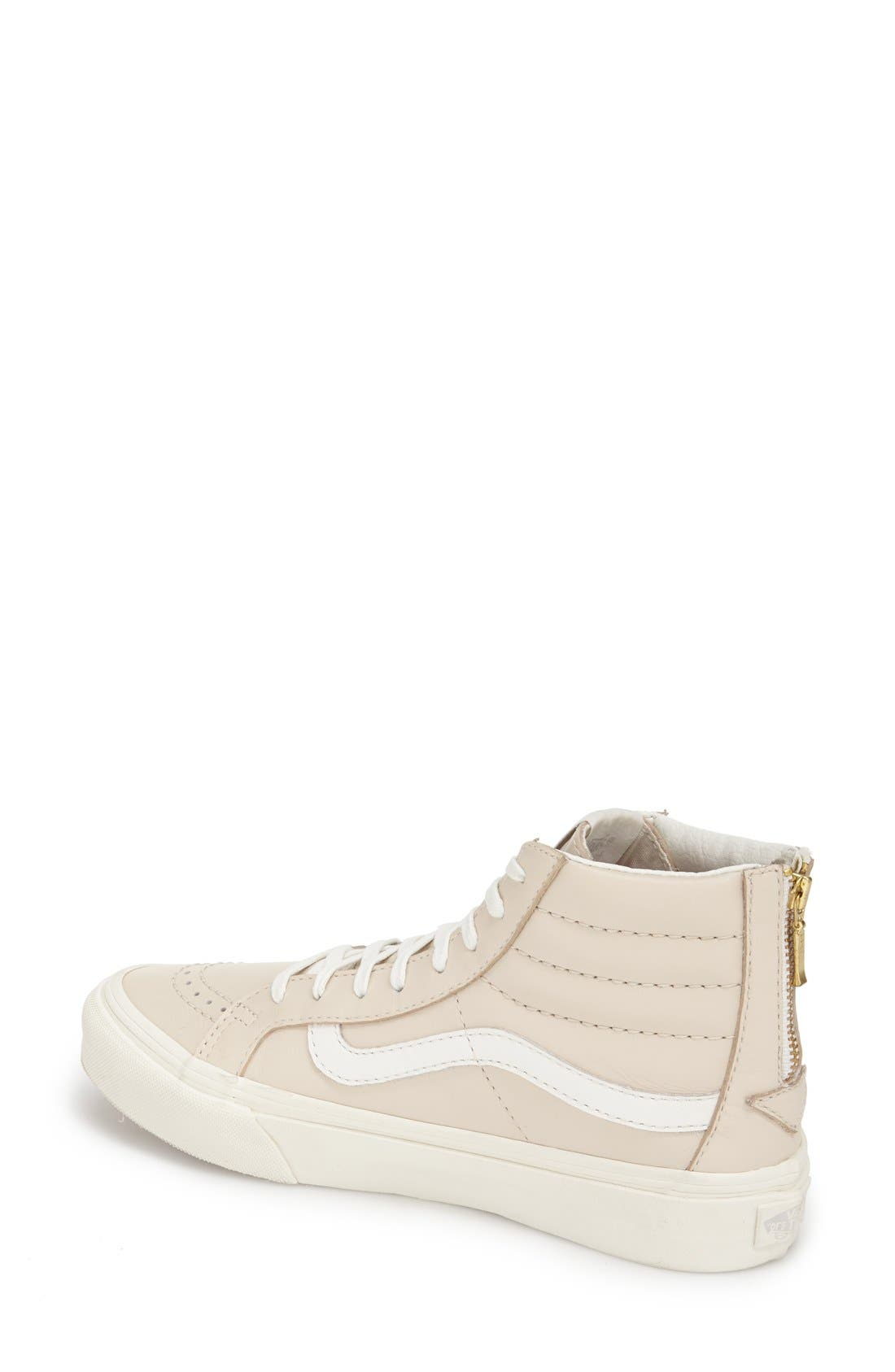Alternate Image 2  - Vans 'Sk8-Hi Slim' High Top Sneaker (Women)