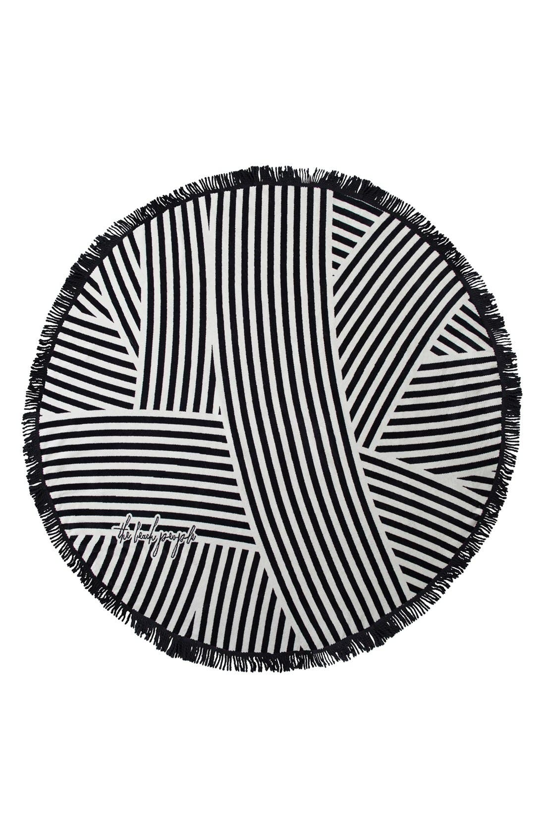 The Beach People 'Paloma' Round Beach Towel