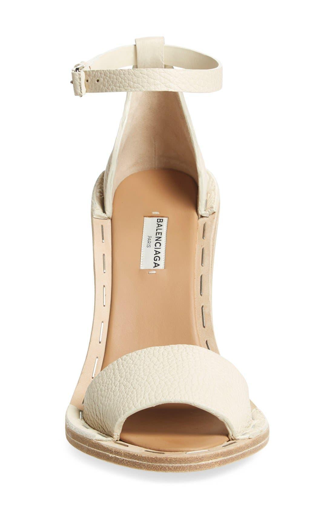 Alternate Image 3  - Balenciaga Wood Heel Sandal (Women)
