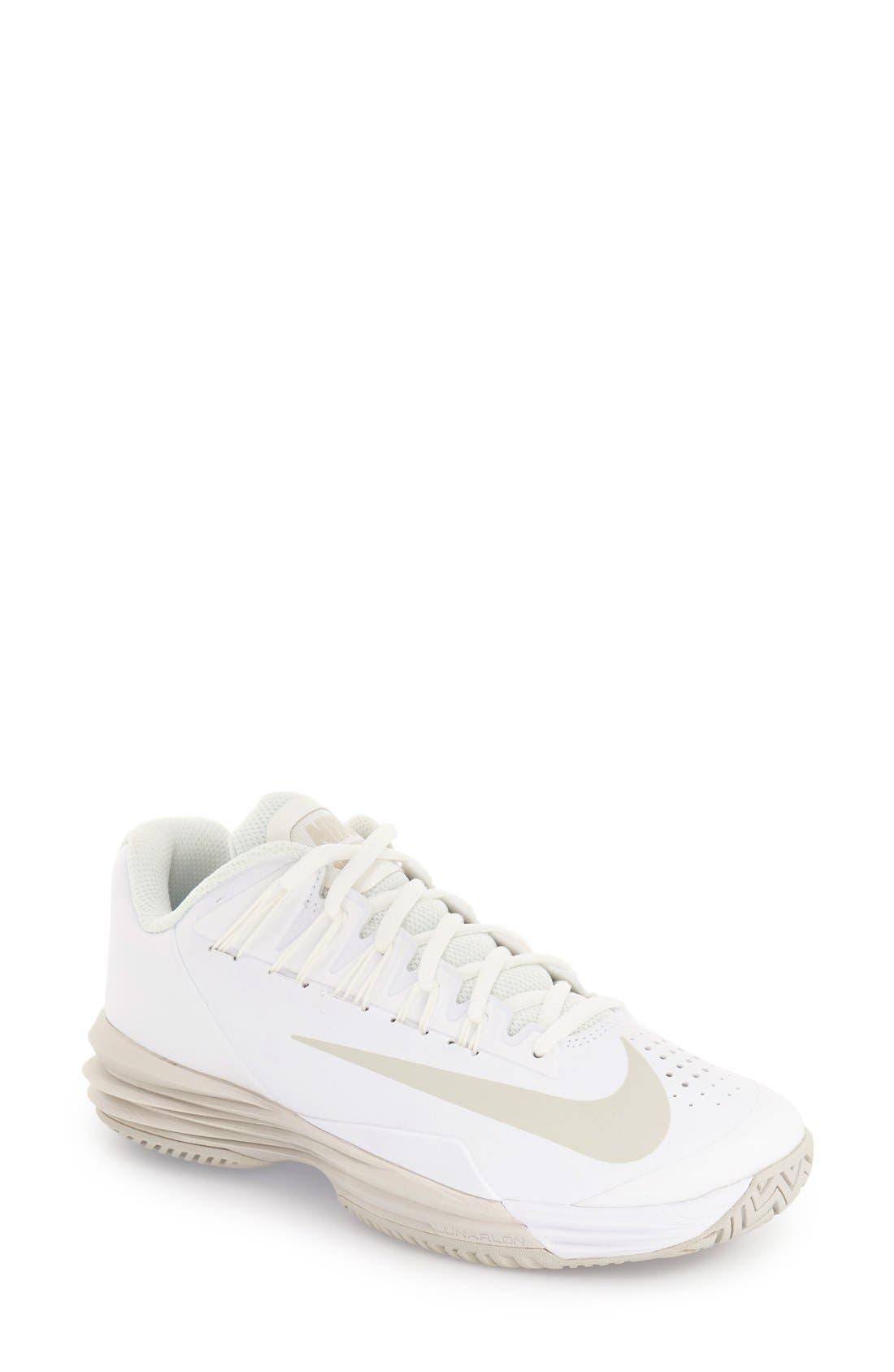 Alternate Image 1 Selected - Nike 'Lunar Ballistec 1.5' Tennis Shoe (Women)