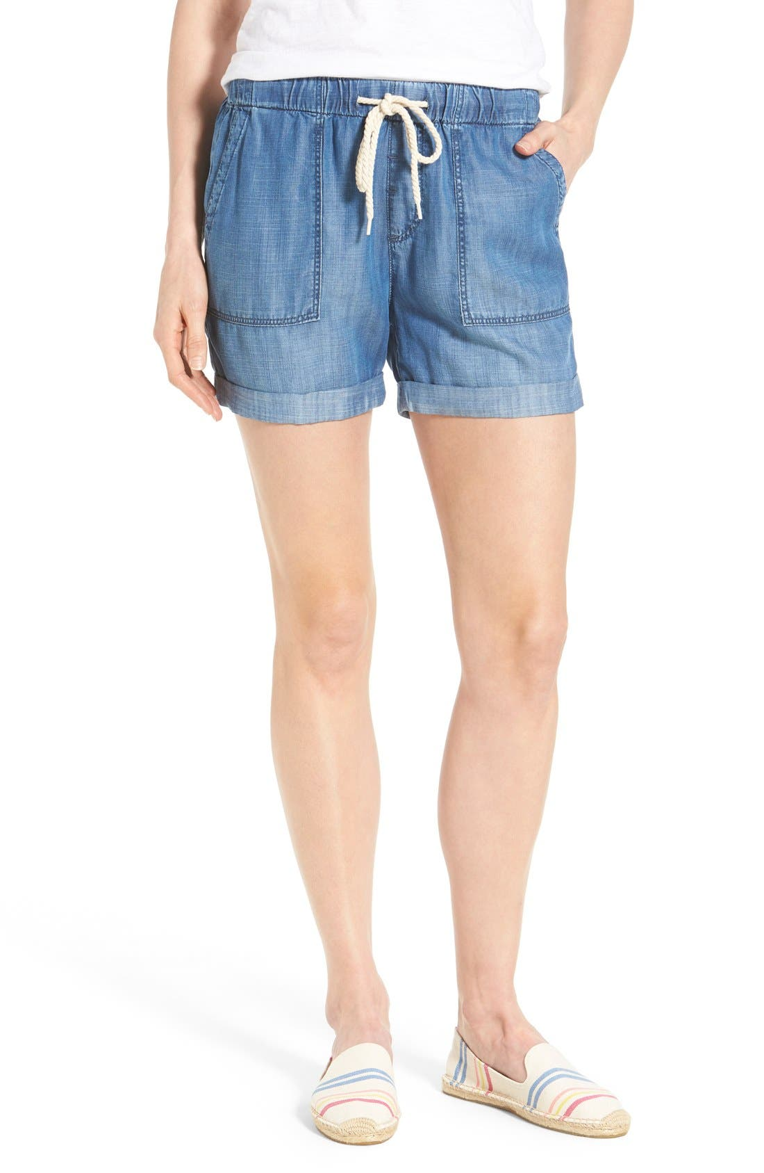 MAVI JEANS 'Laila' Soft Brushed Denim Shorts