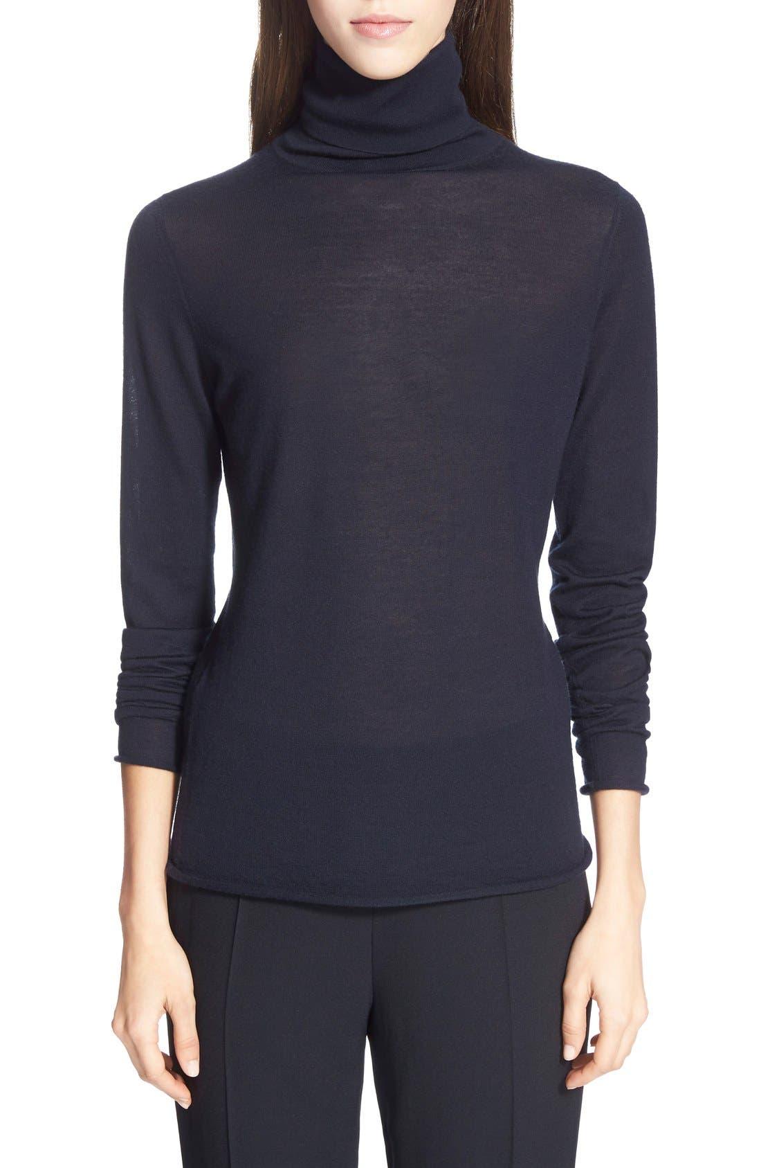CHLOÉ Knit Turtleneck Cashmere Sweater
