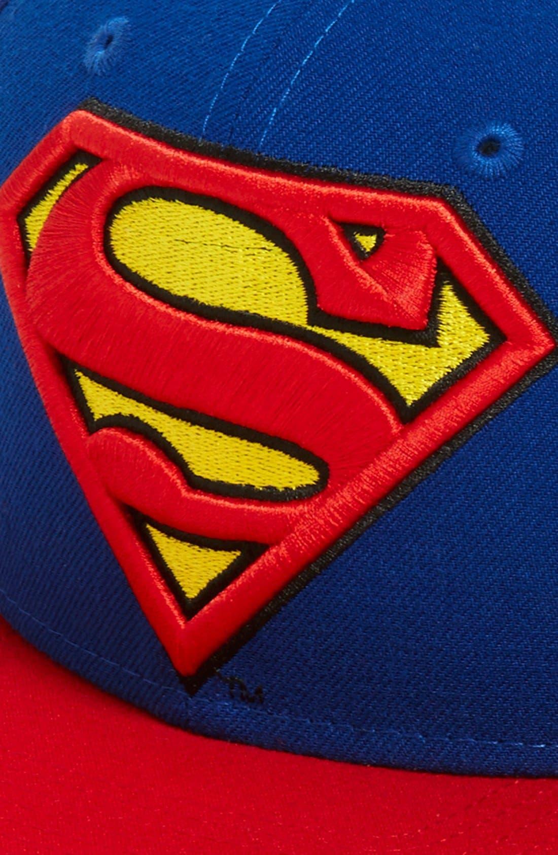 Alternate Image 2  - New Era Cap 'Superman' Snapback Cap