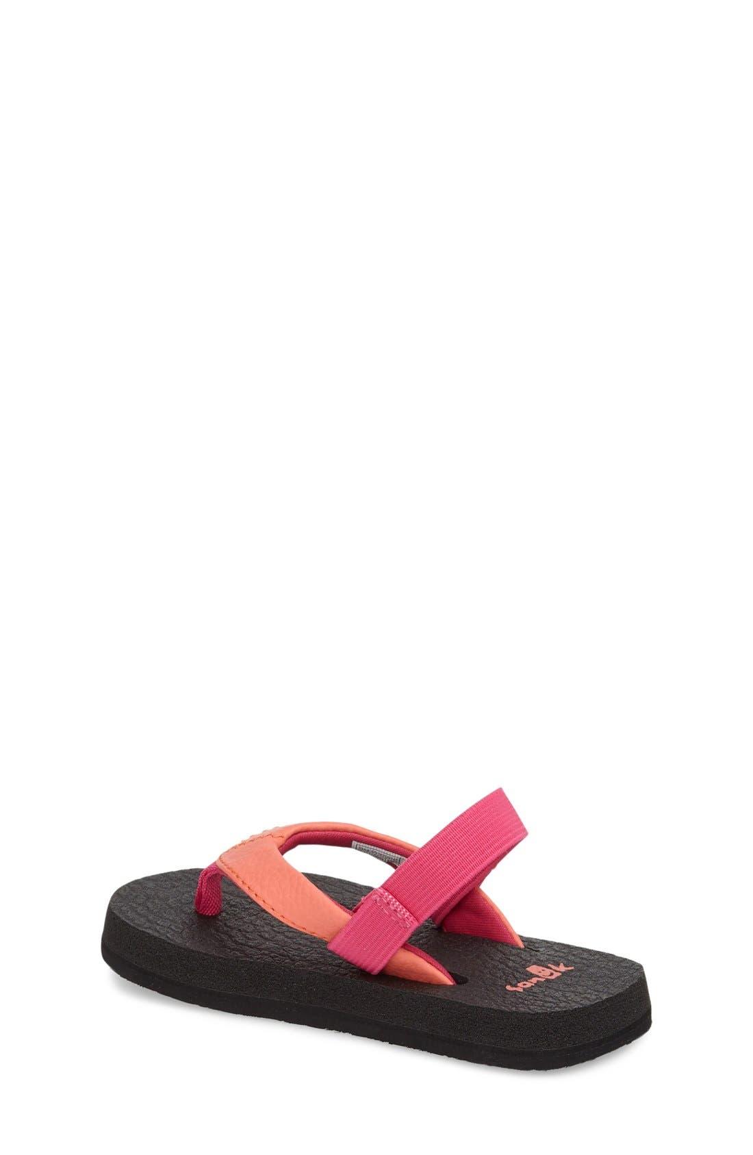 Alternate Image 2  - Sanuk 'Yoga Mat' Sandal (Toddler, Little Kid & Big Kid)