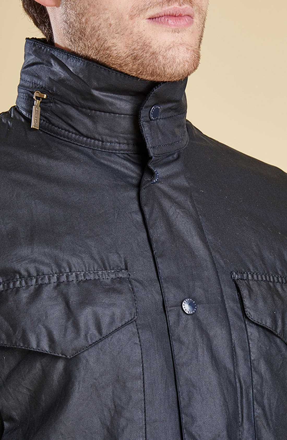 Alternate Image 8  - Barbour 'Sapper' Tailored Fit Weatherproof Waxed Jacket