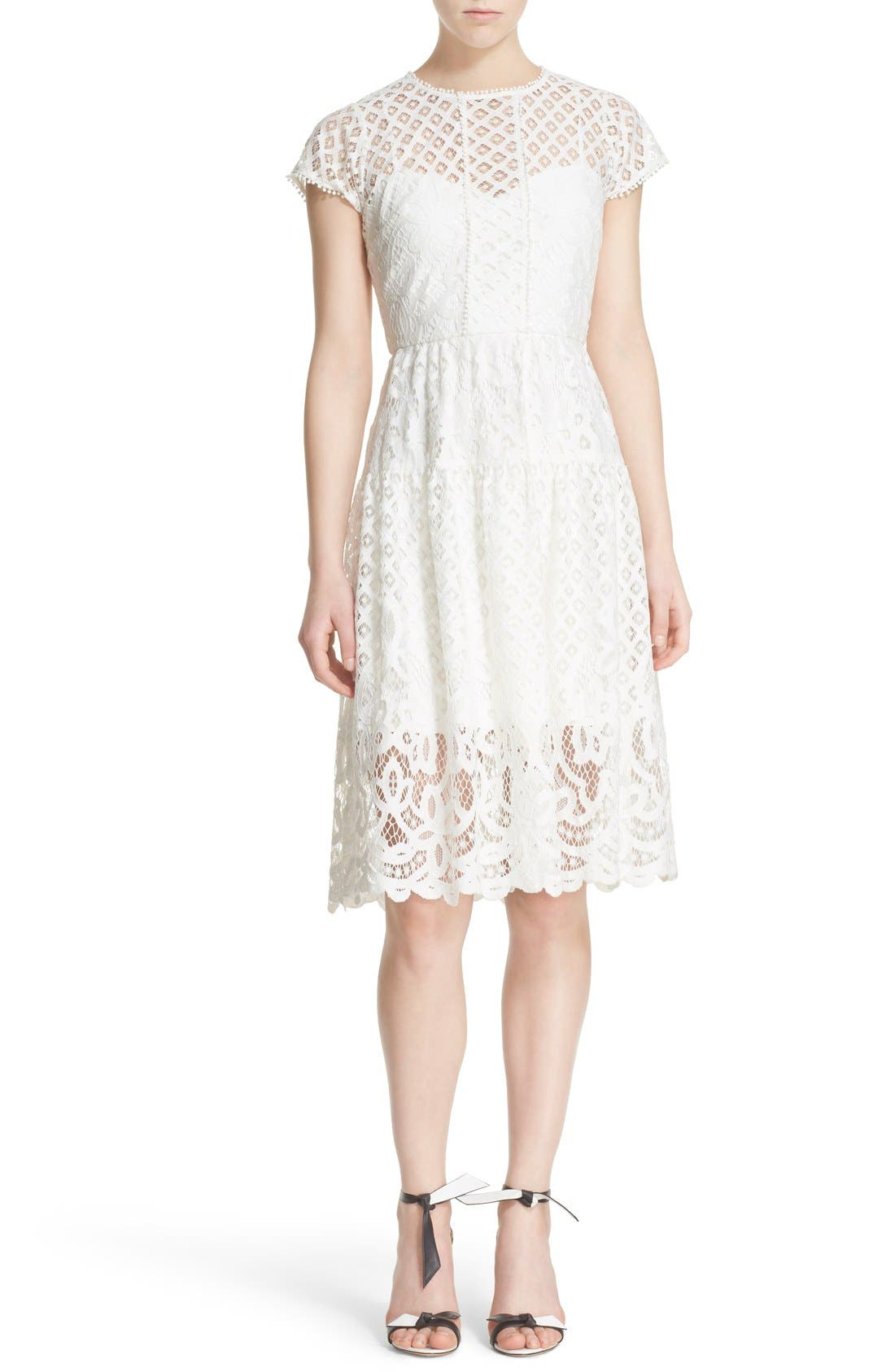 Main Image - Parker 'Talulah' Lace Fit & Flare Dress