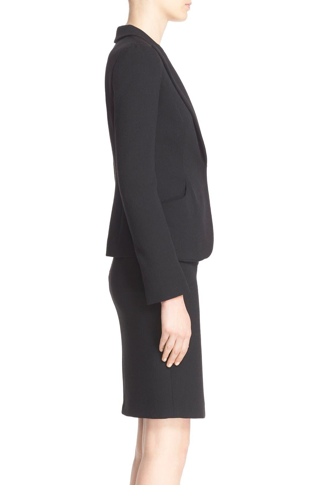 Alternate Image 5  - Armani Collezioni Two-Way Stretch Jacket