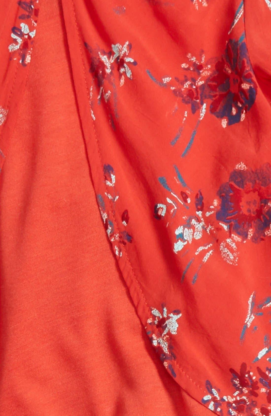 Alternate Image 2  - Splendid Floral Print Tunic & Leggings Set (Baby Girls)