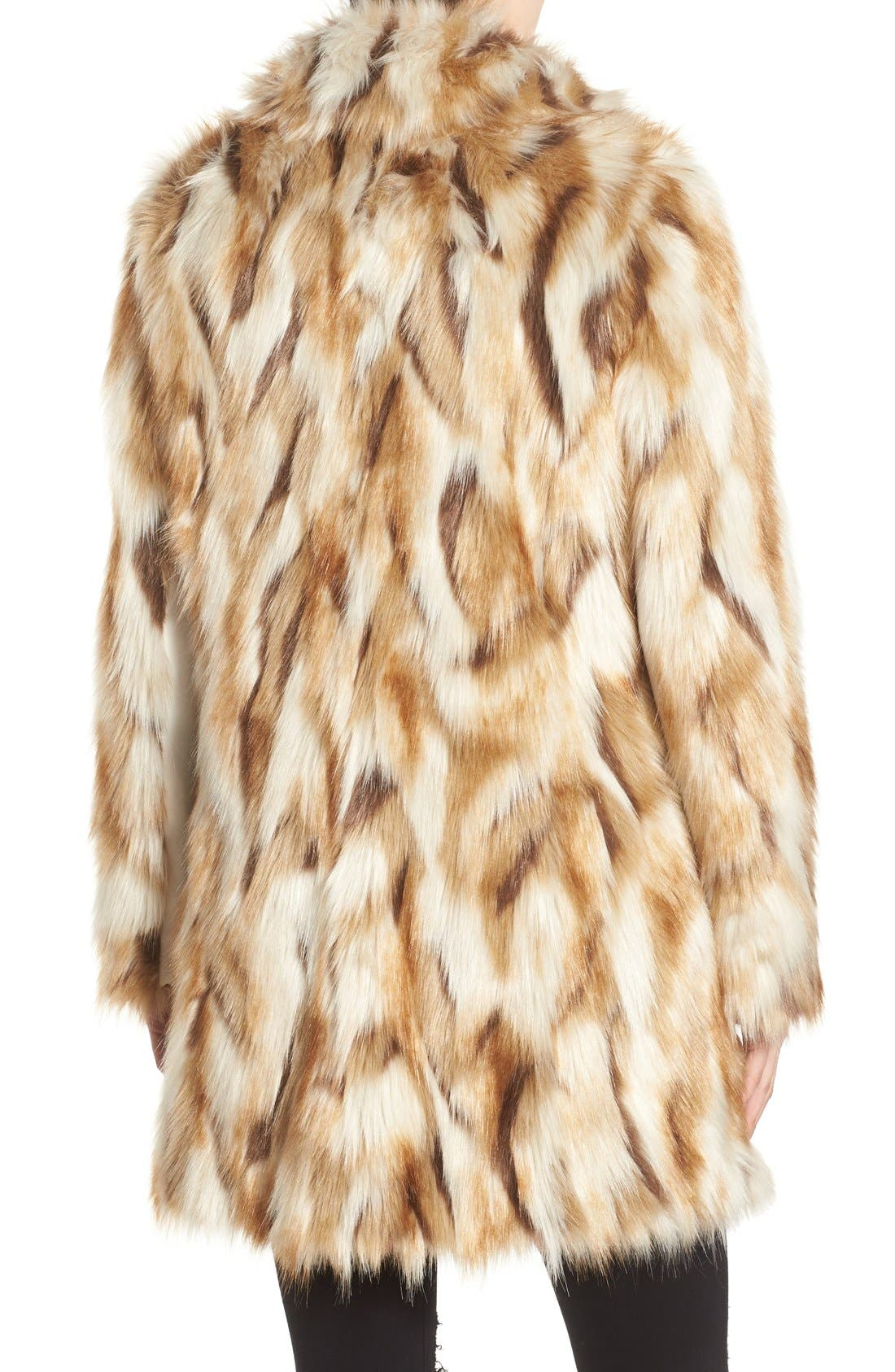 Alternate Image 2  - 7 for All Mankind Faux Fur Coat