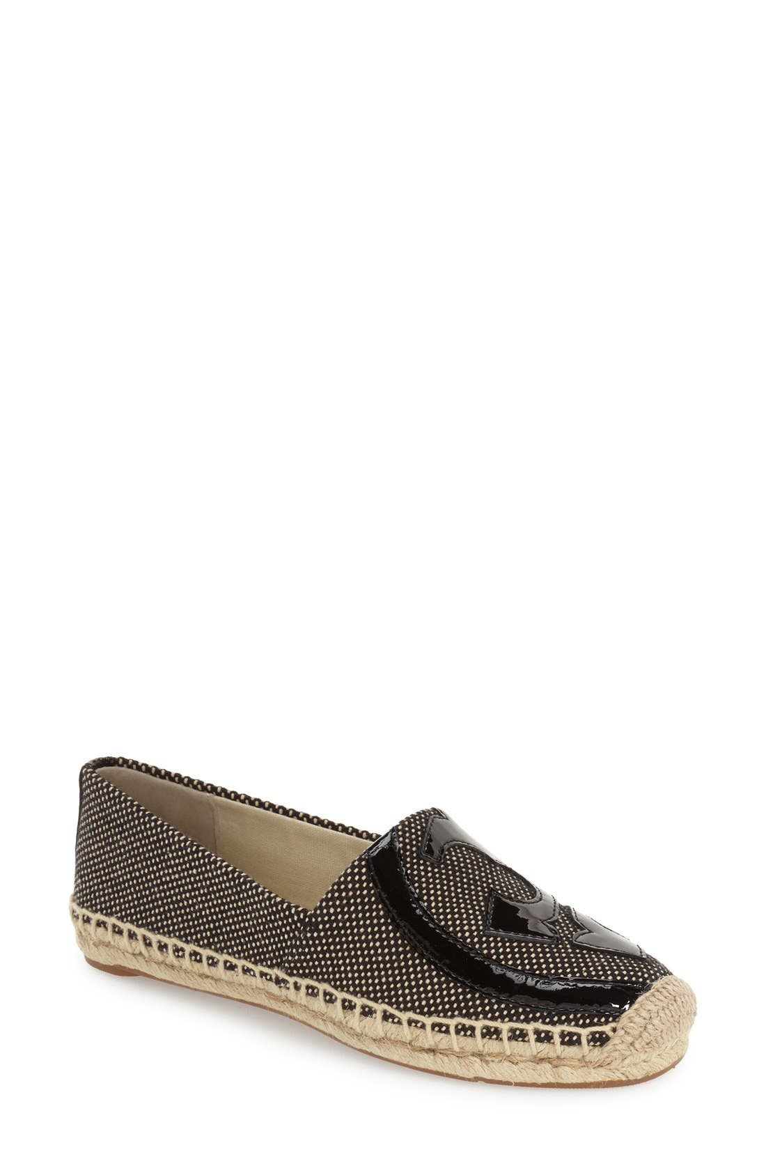 Alternate Image 1 Selected - Tory Burch 'Lonnie' Espadrille Flat (Women)