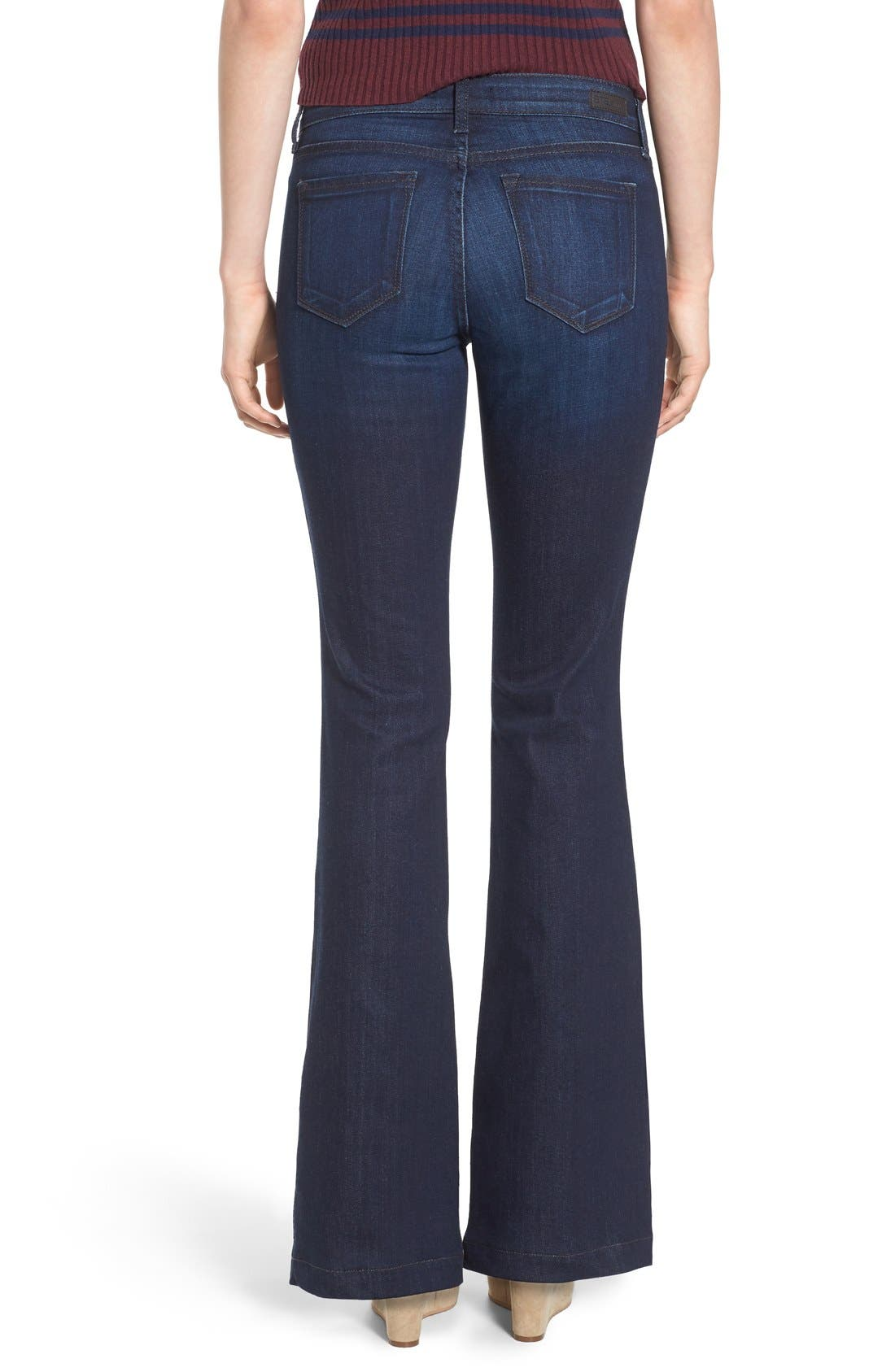 Alternate Image 3  - STS Blue Flare Leg Stretch Jeans (West Surfside)