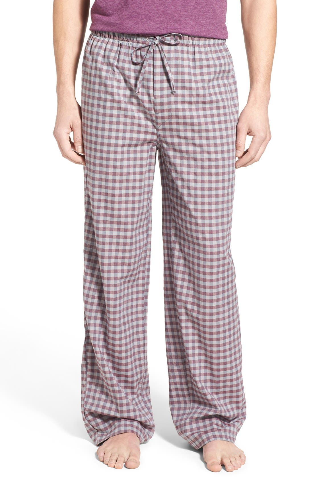 Alternate Image 1 Selected - Nordstrom Men's Shop Woven Lounge Pants