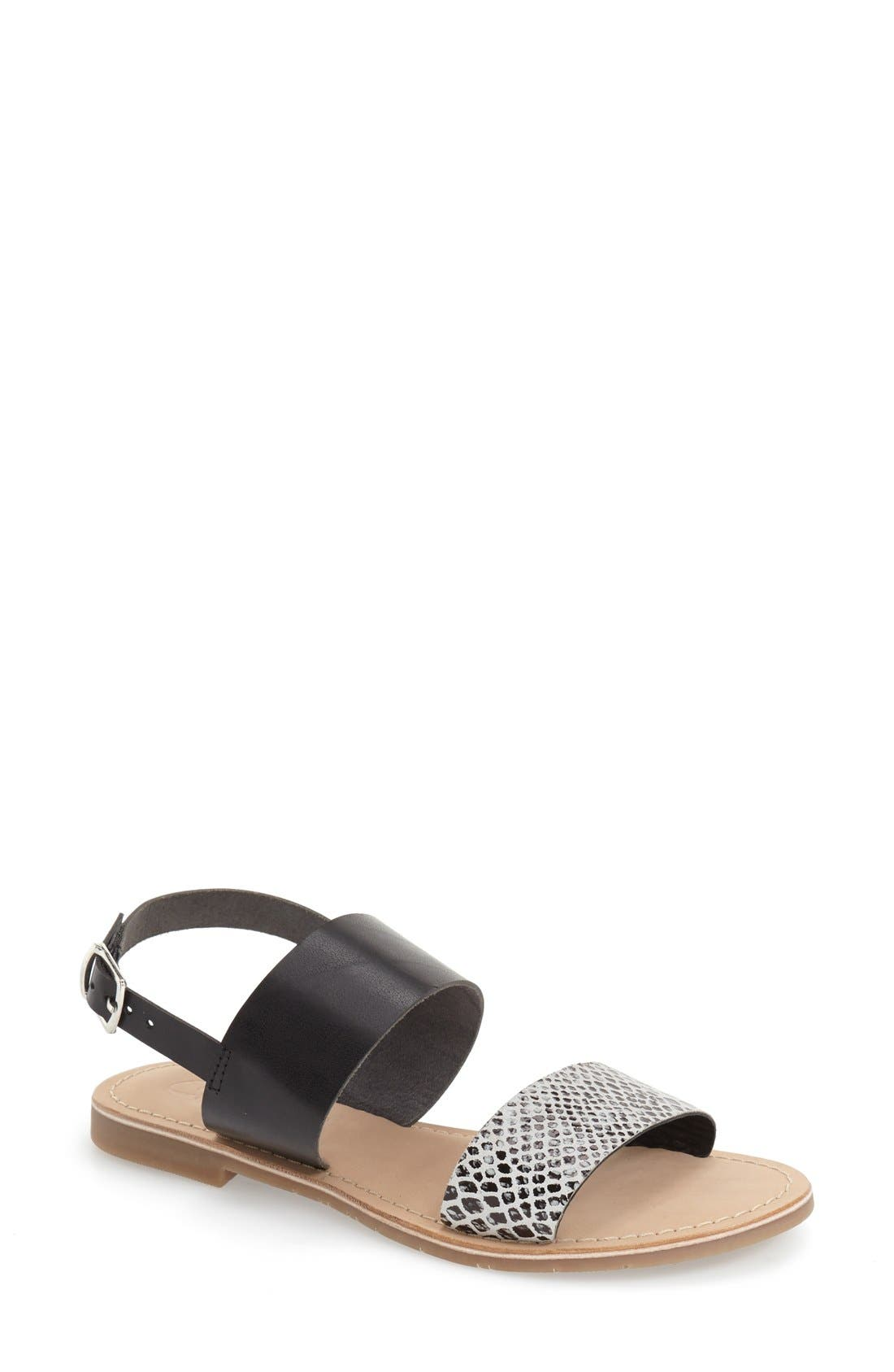Alternate Image 1 Selected - Callisto 'Avishi' Flat Slingback Sandal (Women)