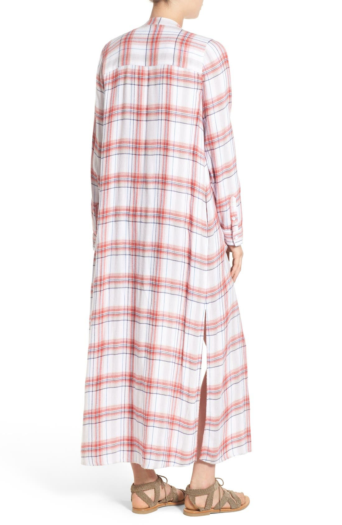 Alternate Image 2  - Treasure&Bond Drapey Plaid Duster