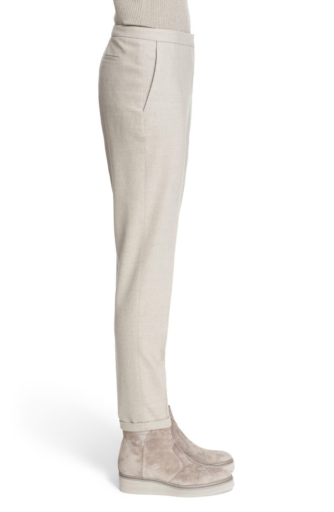 Alternate Image 5  - Fabiana Filippi 'Montefalco' Straight Leg Ankle Pants