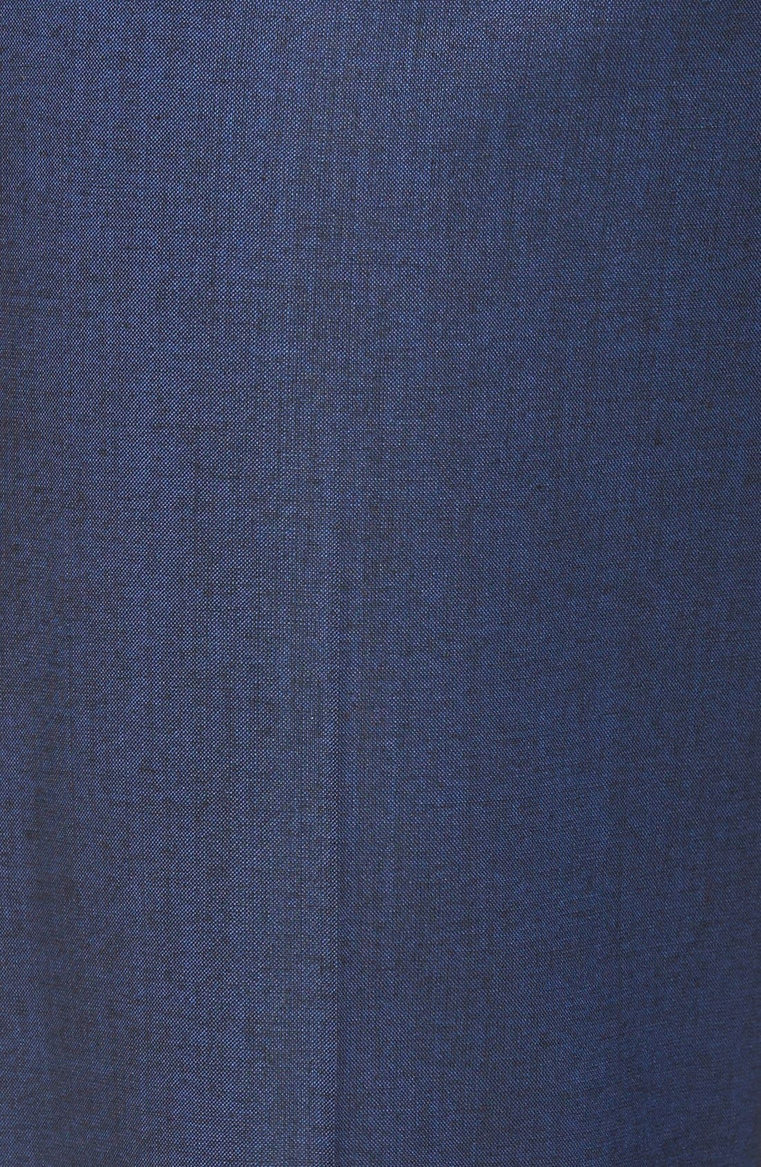 Alternate Image 6  - BOSS 'Tulea' Stretch Wool Blend Suit Trousers