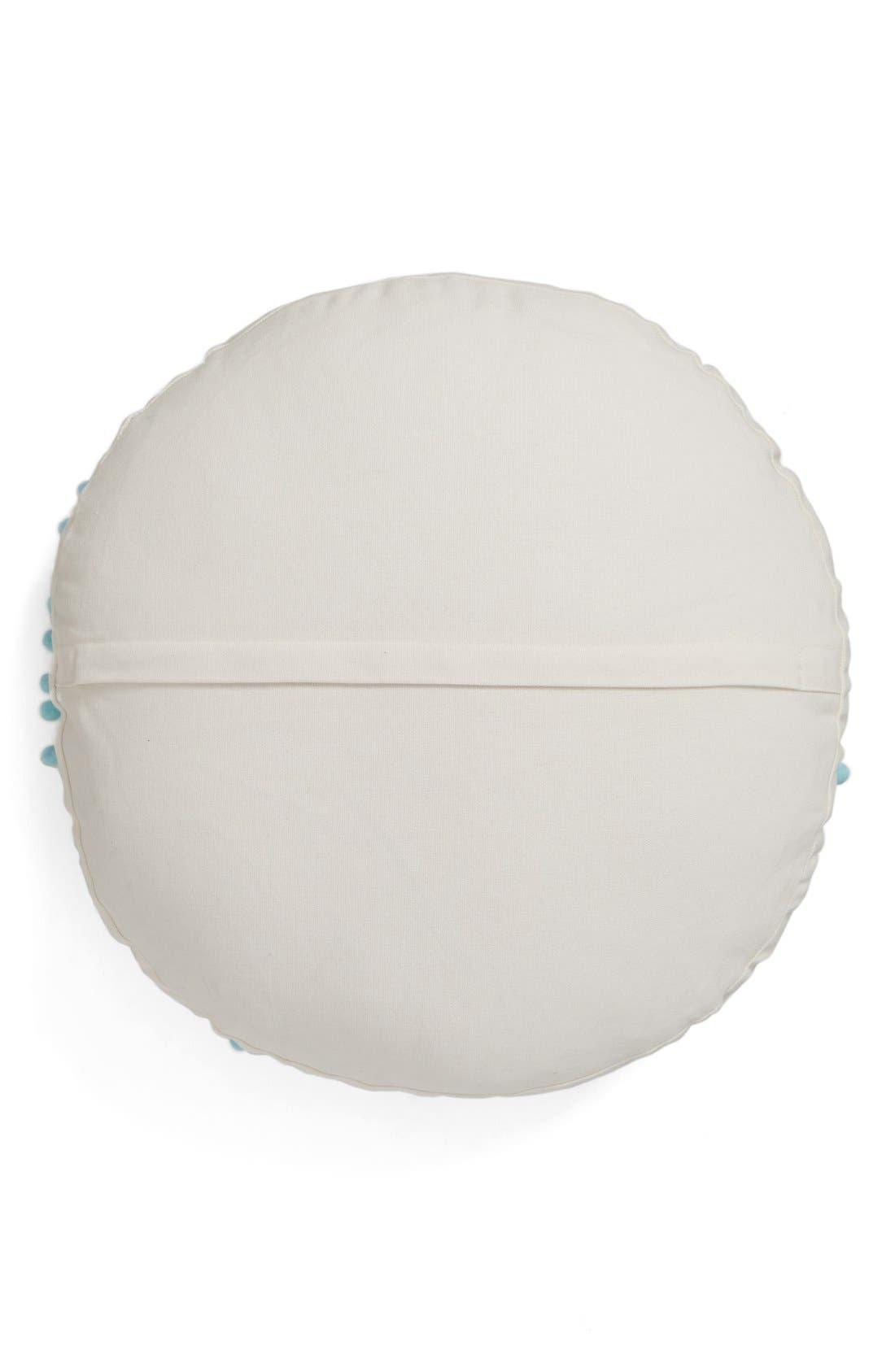 Alternate Image 2  - Levtex Embroidered Round Pillow