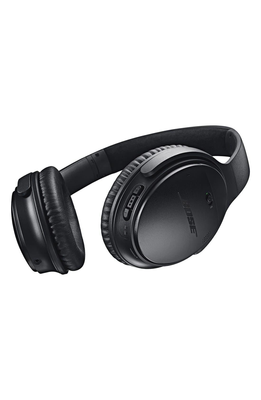 Alternate Image 3  - Bose® QuietComfort® 35 Acoustic Noise Cancelling® Bluetooth® Headphones