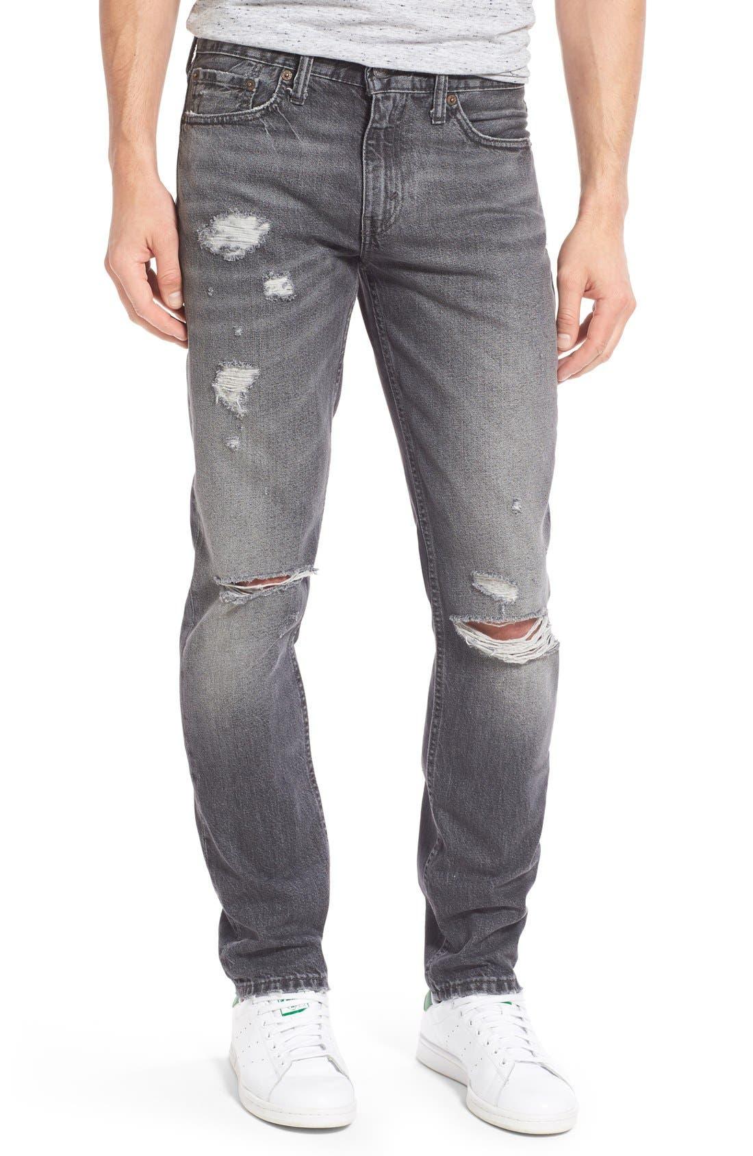 Alternate Image 1 Selected - Levi's® 511™ Slim Fit Jeans (Antique Rust)