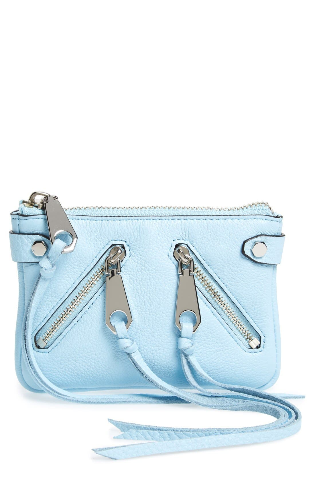 Alternate Image 1 Selected - Rebecca Minkoff 'Moto' Leather Pouch