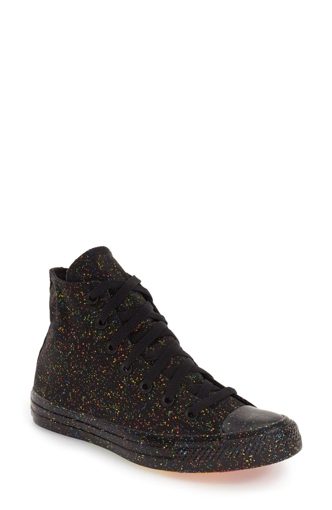 Alternate Image 1 Selected - Converse Chuck Taylor® All Star® 'Pride' High Top Sneaker (Women)