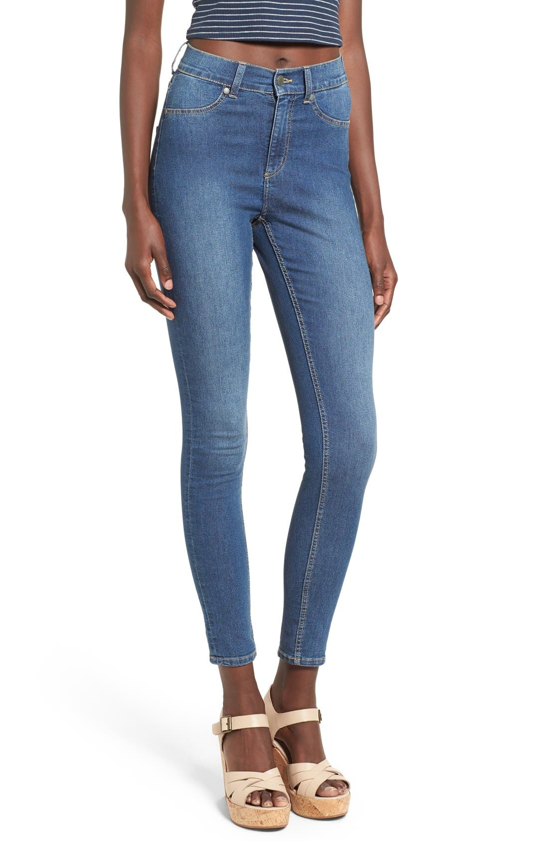 Alternate Image 1 Selected - Cheap Monday 'High Spray' High Rise Skinny Jeans