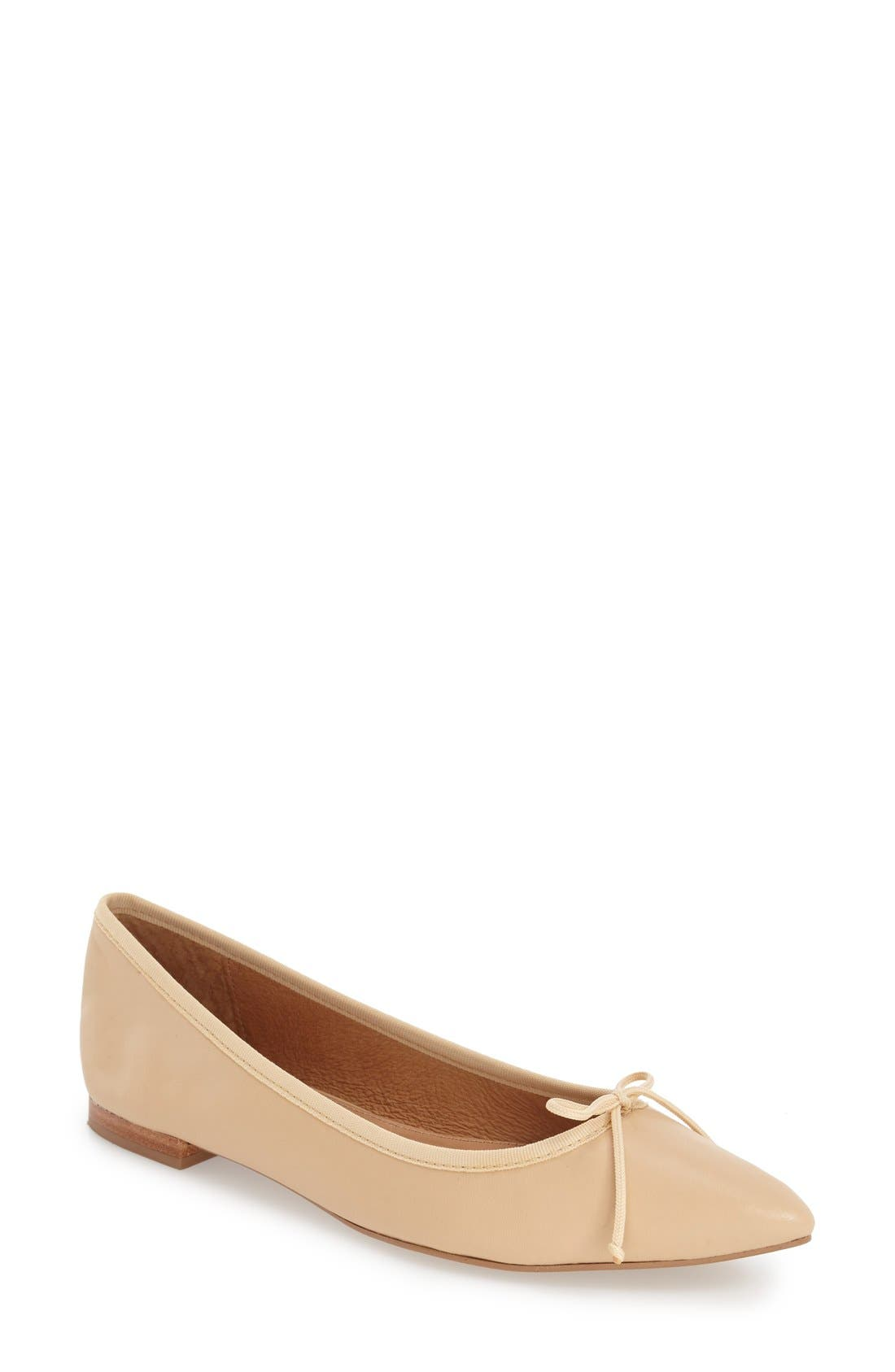 Corso Como 'Recital' Pointy Toe Flat (Women)