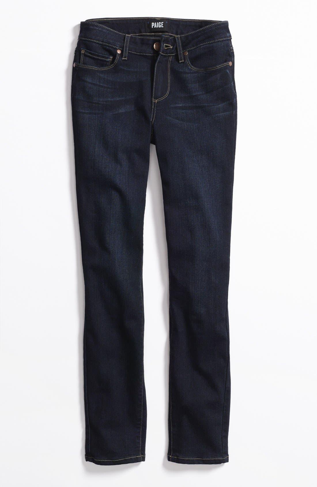 Alternate Image 9  - PAIGE 'Transcend - Verdugo' Ankle Skinny Jeans (Tari)