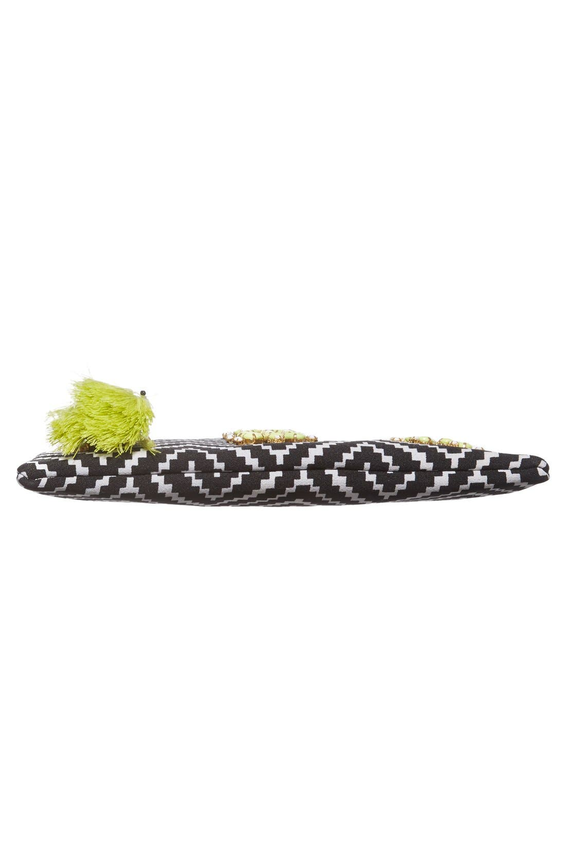 Alternate Image 6  - Shiraleah 'Asta' Embellished Zip Pouch