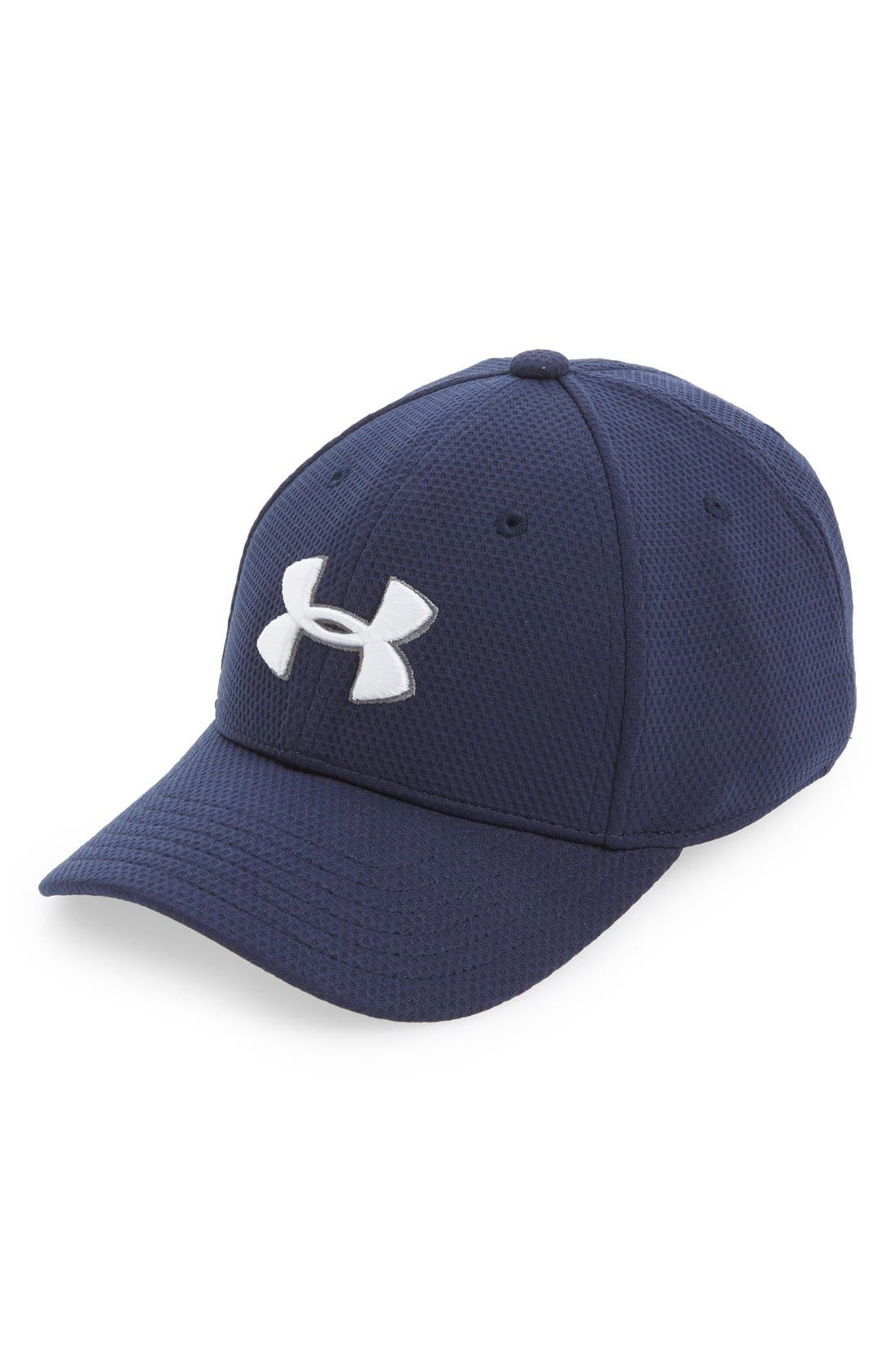 UNDER ARMOUR 'Blitzing 2.0' Stretch Fit Baseball Cap