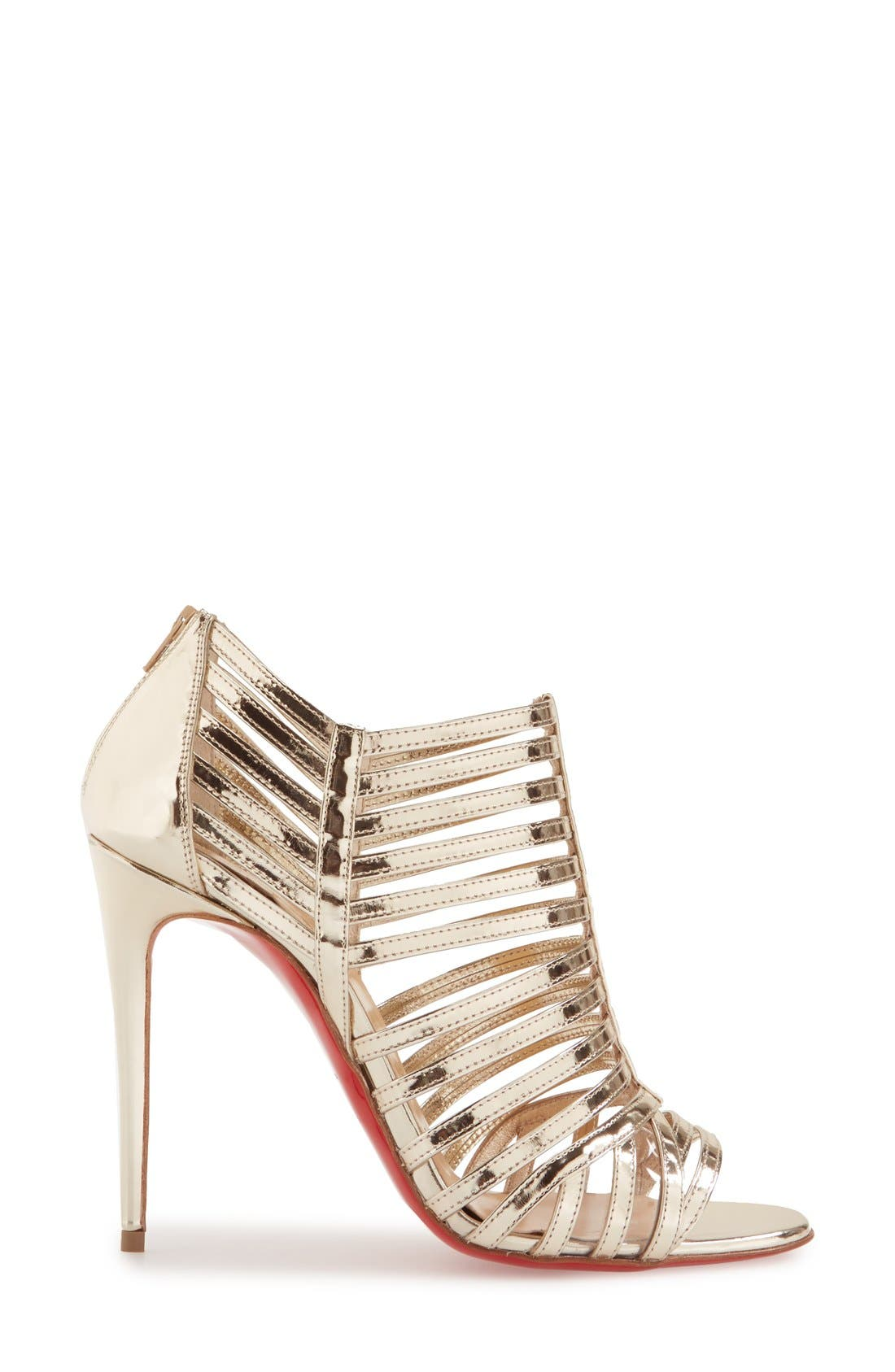 Alternate Image 4  - Christian Louboutin 'City Jolly' Cage Sandal