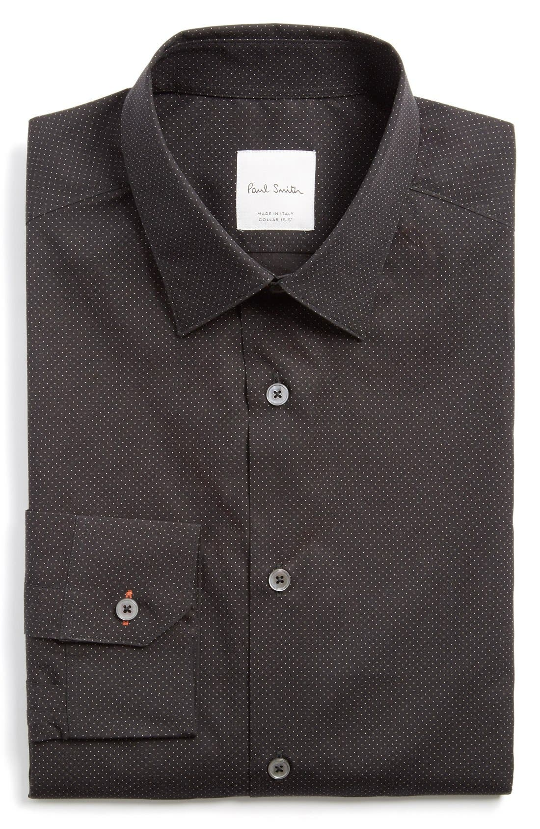 PAUL SMITH LONDON Extra Trim Fit Dot Print
