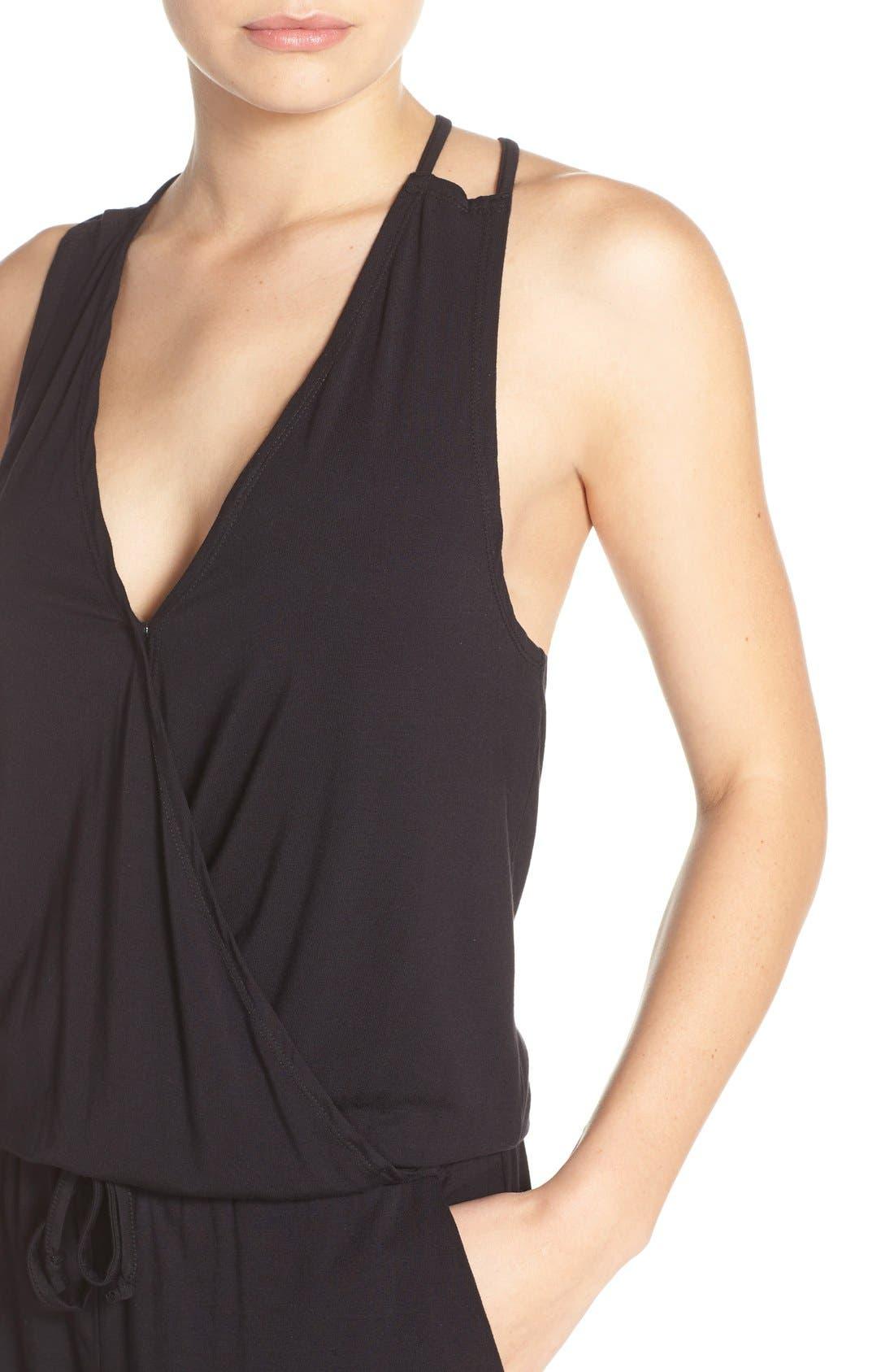 Alternate Image 4  - BB Dakota 'Milligan' Sleeveless Jumpsuit