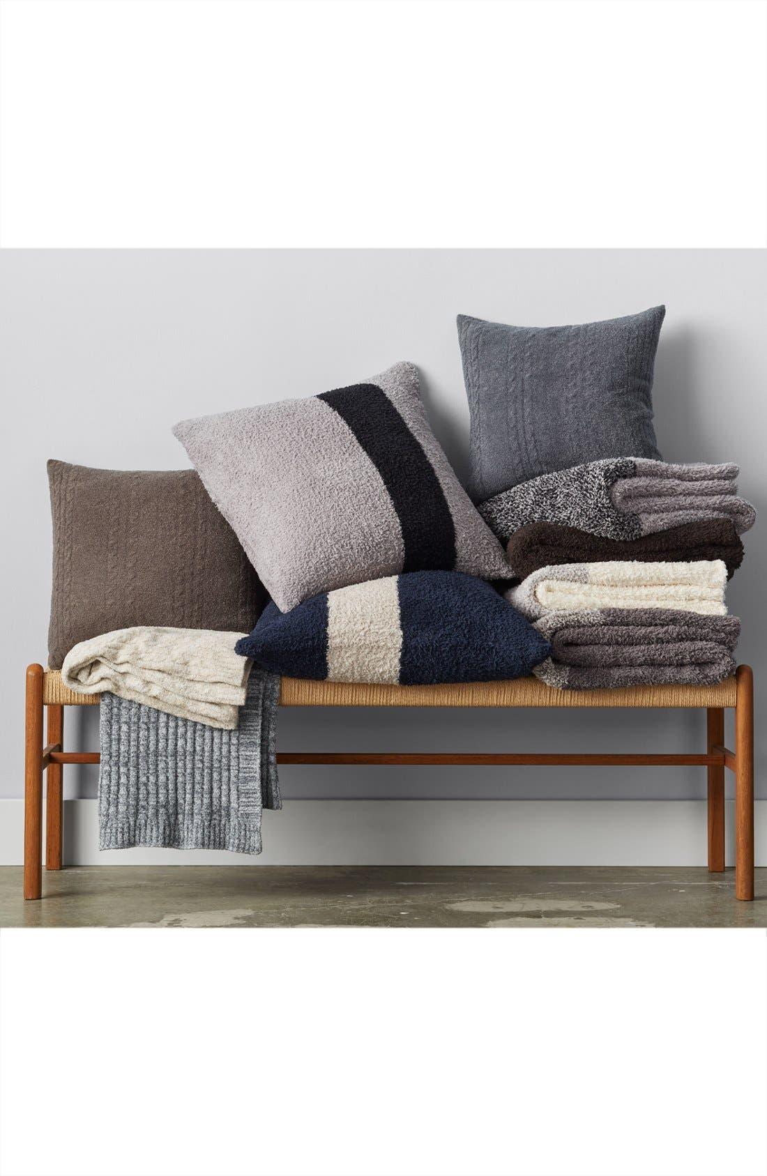 Alternate Image 4  - Barefoot Dreams® CozyChic® Stripe Pillow
