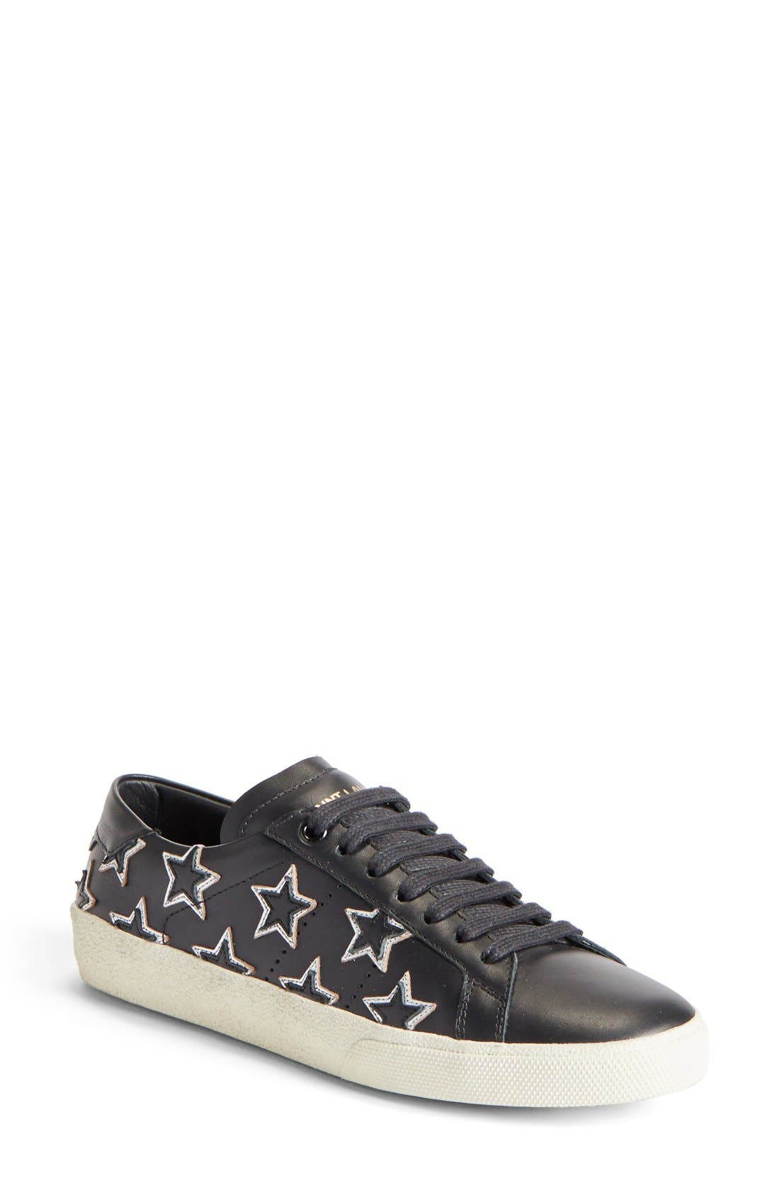 Saint Laurent 'Classic Court' Low Top Sneaker (Women)