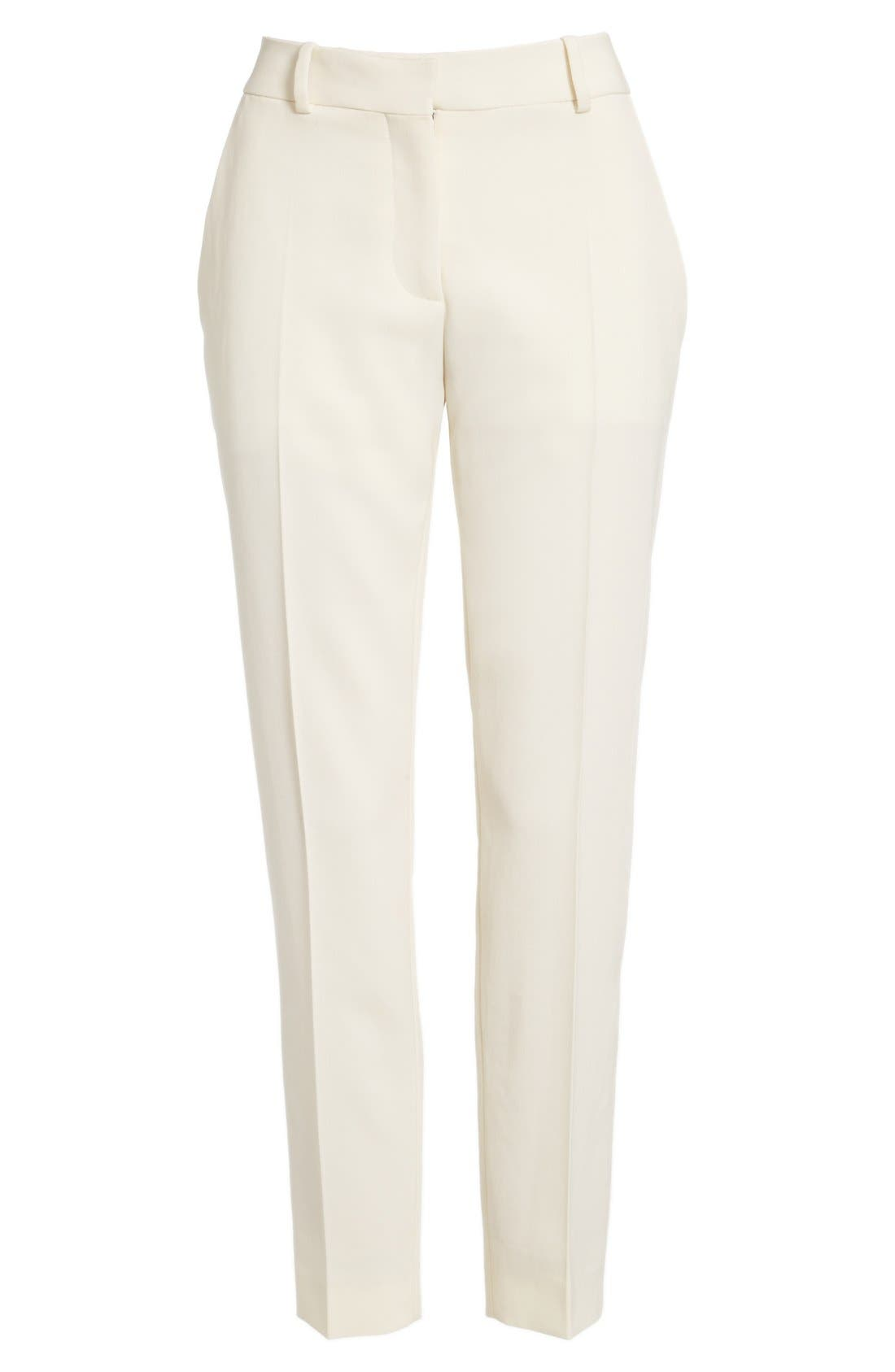 Alternate Image 4  - Stella McCartney 'Octavia' Crop Wool Trousers