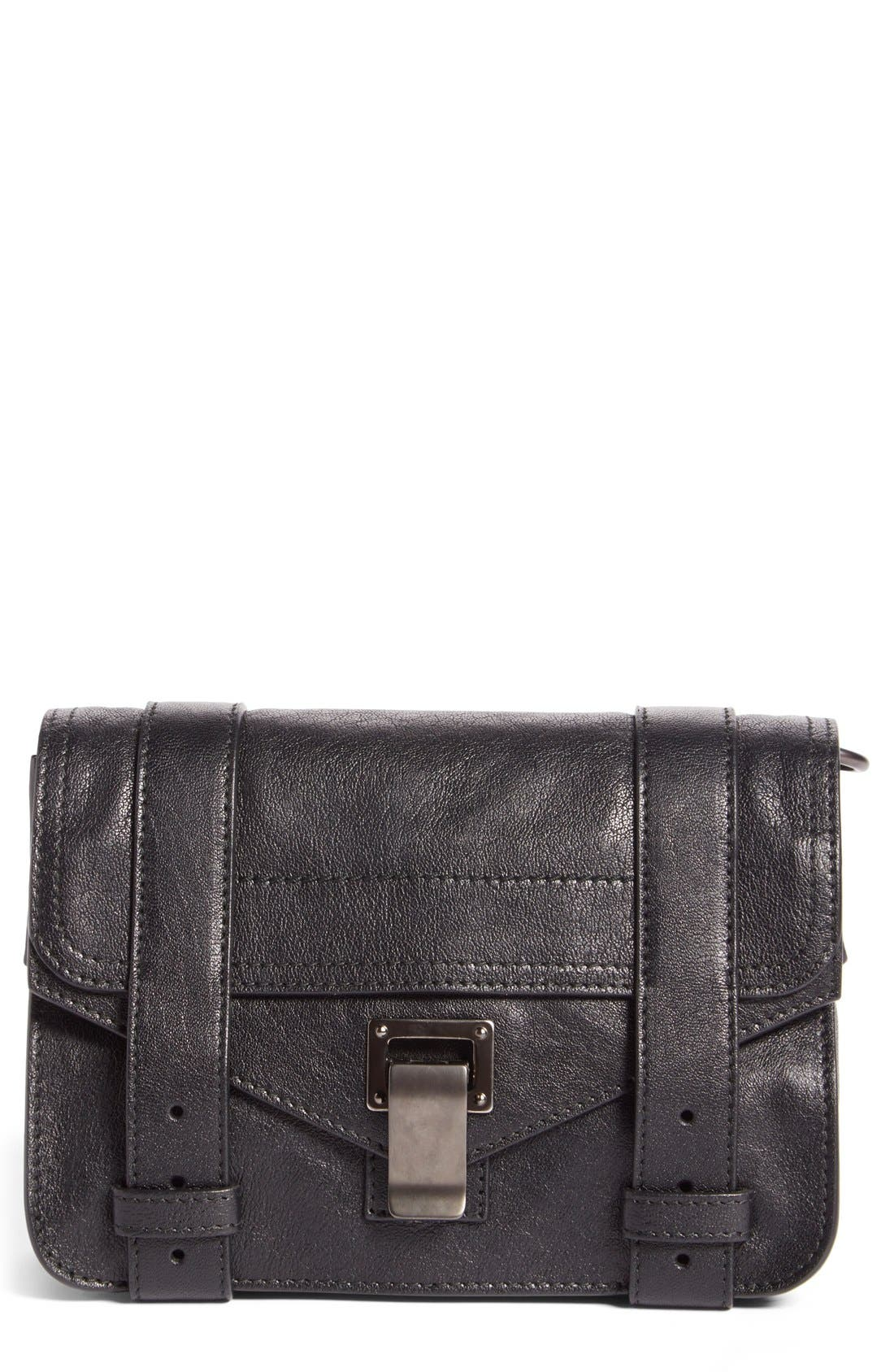 Proenza Schouler 'Mini PS1' Lambskin Leather Crossbody Bag