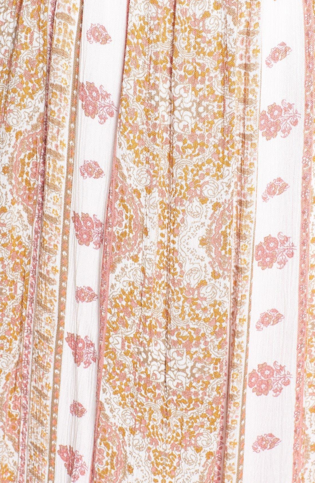 Alternate Image 5  - O'Neill 'Della' Embroidered Woven Maxi Dress