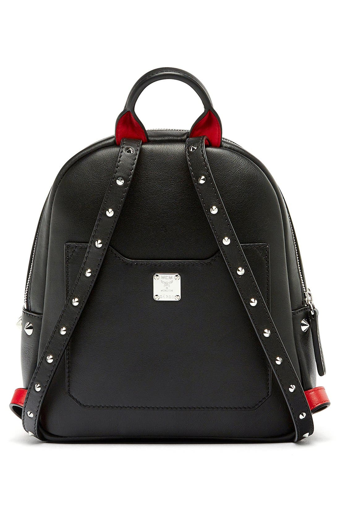 Alternate Image 3  - MCM 'Mini Duchess' Leather Backpack